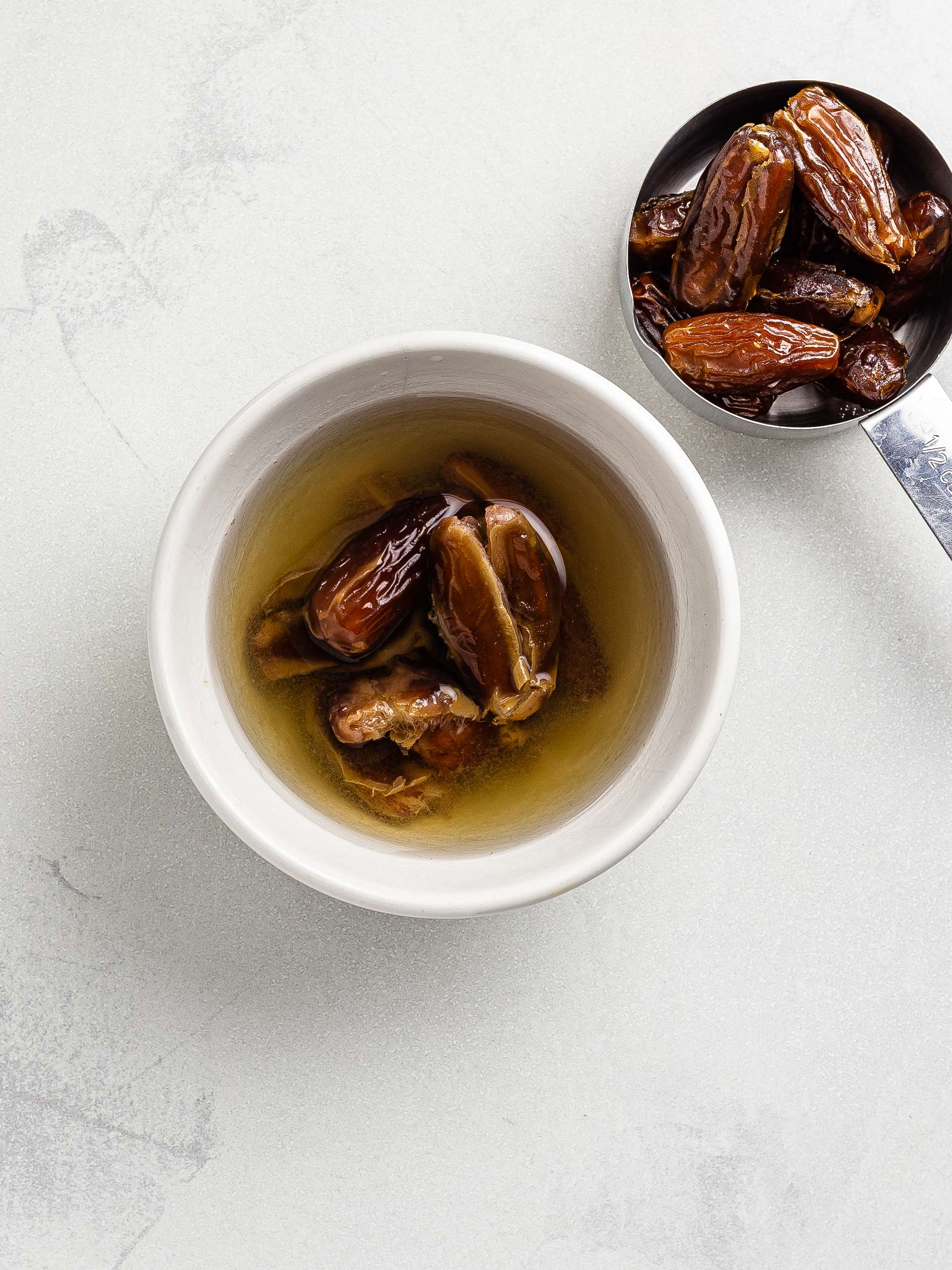 dates soaked in water