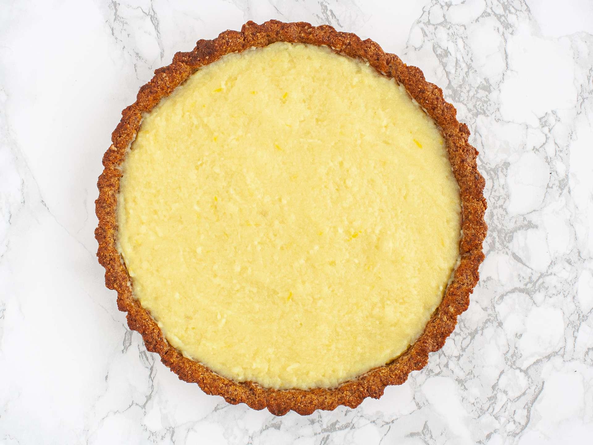 Step 3.2 of Gluten Free Vegan Lemon Tart