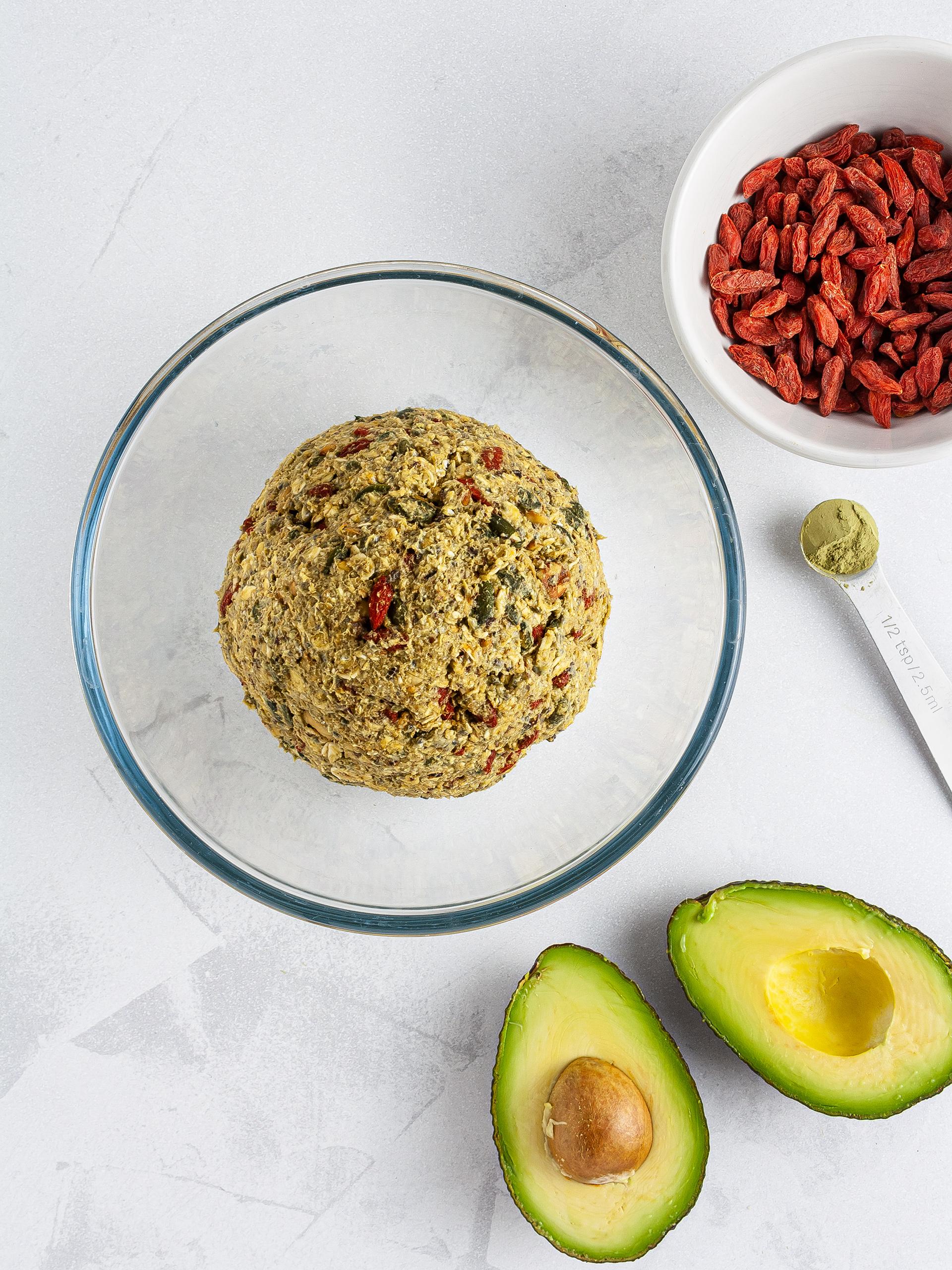 Step 2.2 of {Gluten-Free, Sugar-Free} Vegan Avocado Cookies