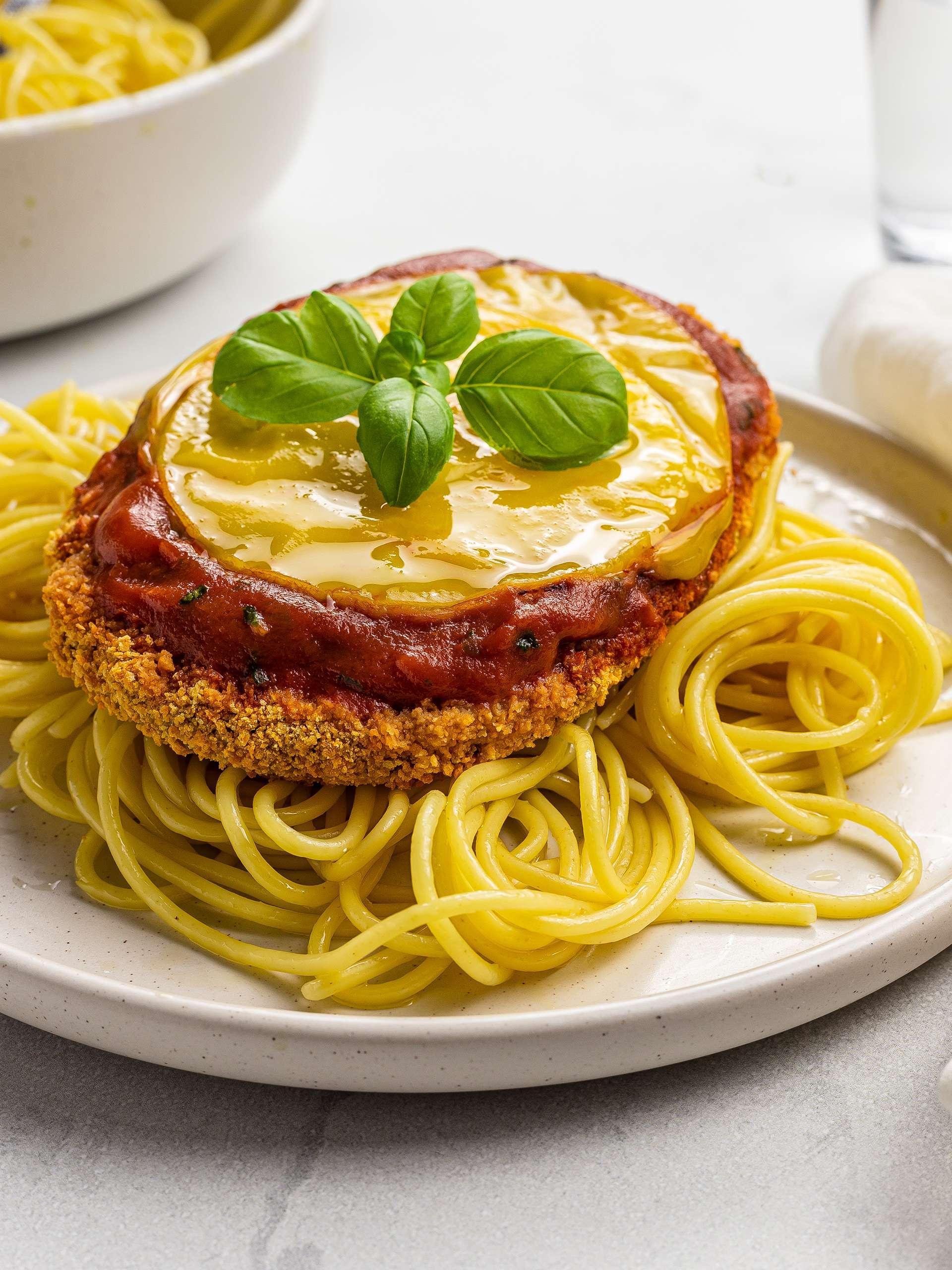 Vegan Chicken Parmesan (Gluten-Free)