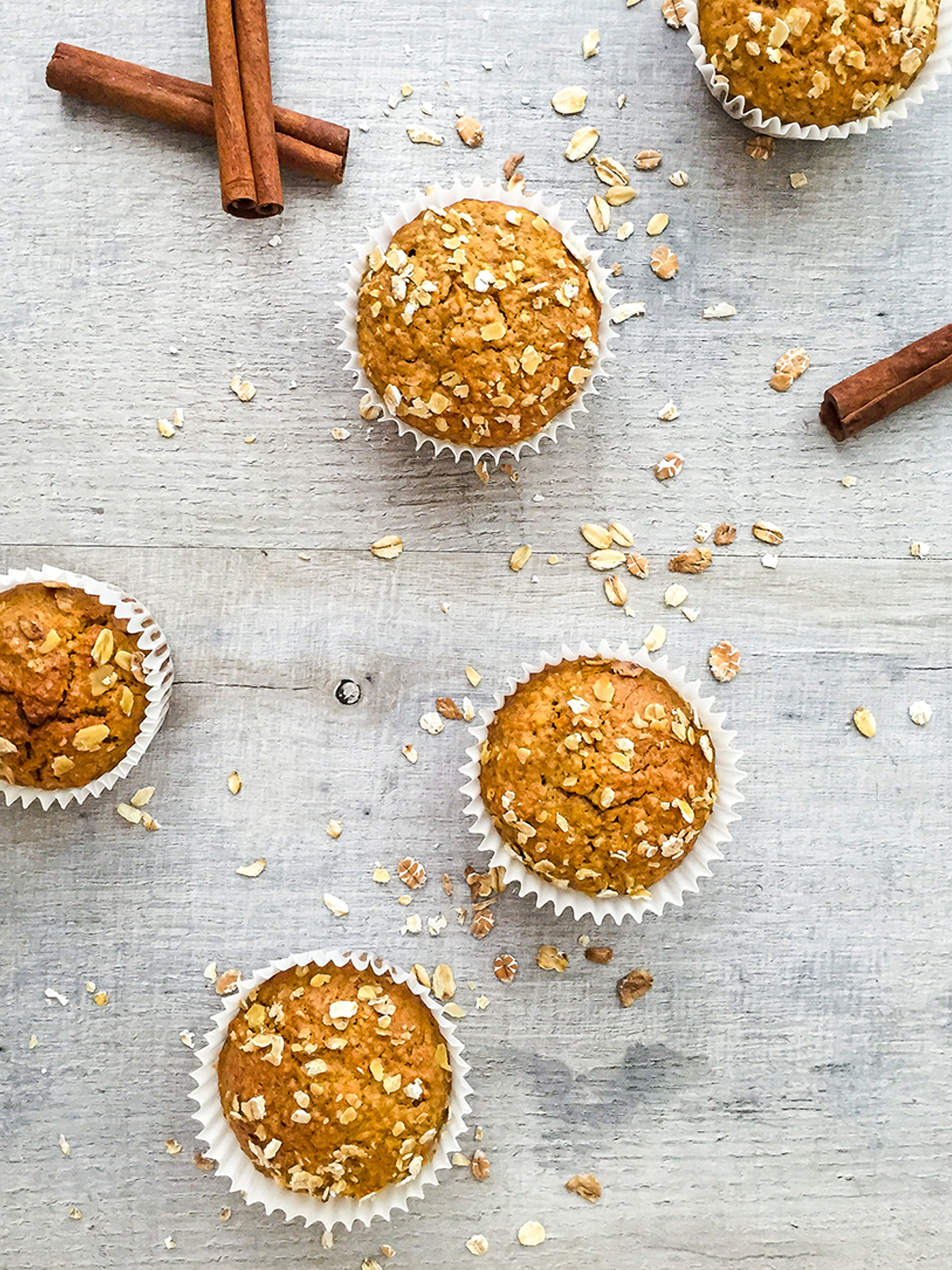 Dairy Free Carrot and Oat Muffins Thumbnail