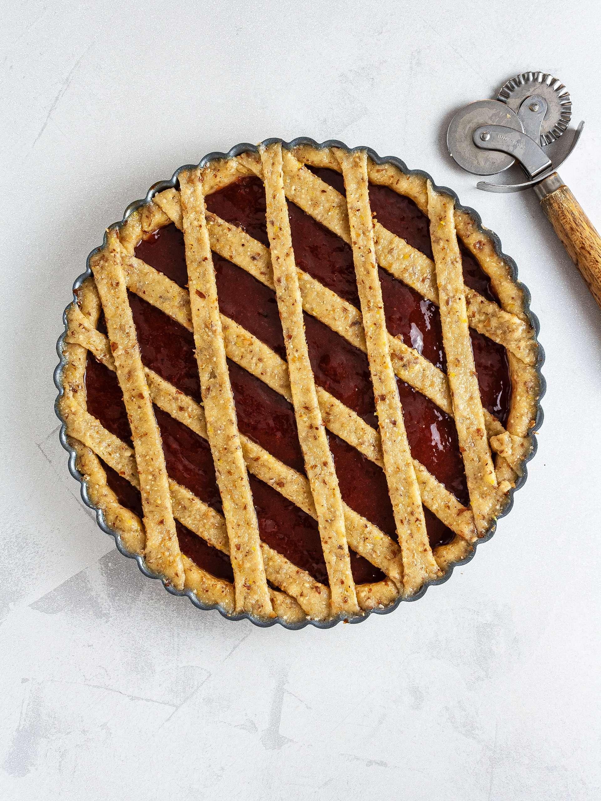 Step 3.2 of Strawberry Jam Pie Recipe