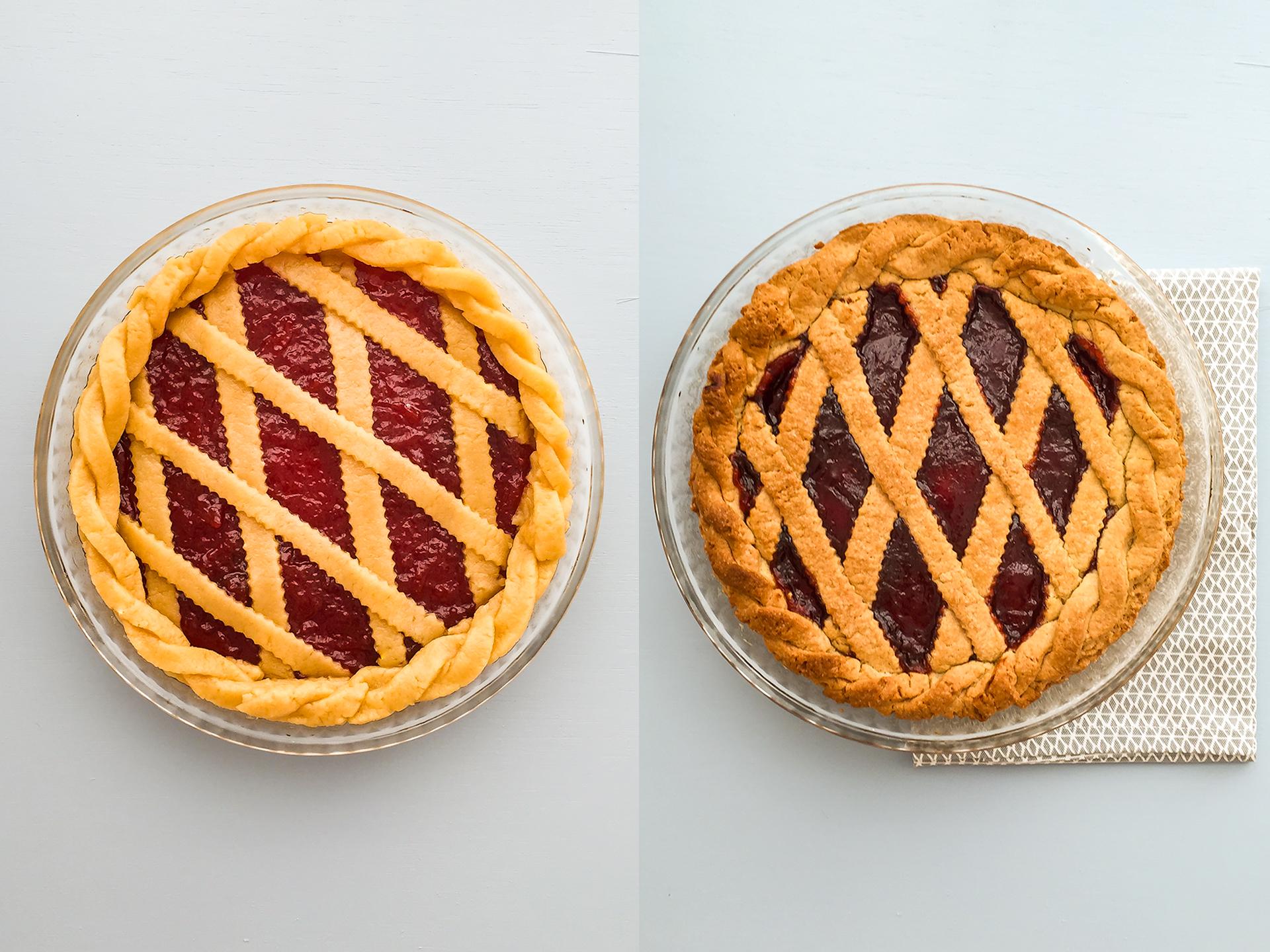 Step 4.1 of Strawberry Jam Pie Recipe