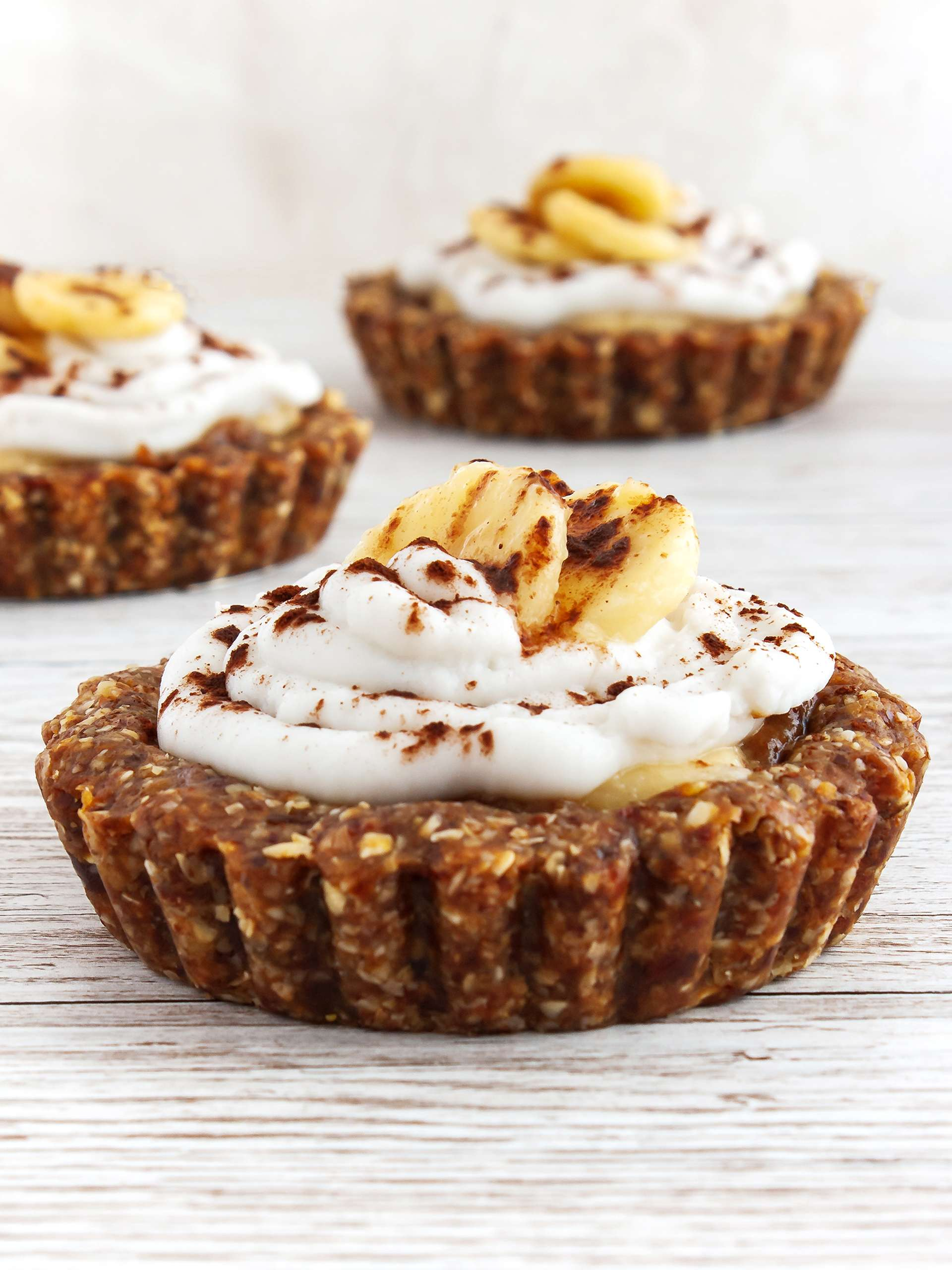 Gluten Free Vegan Banoffee Pie