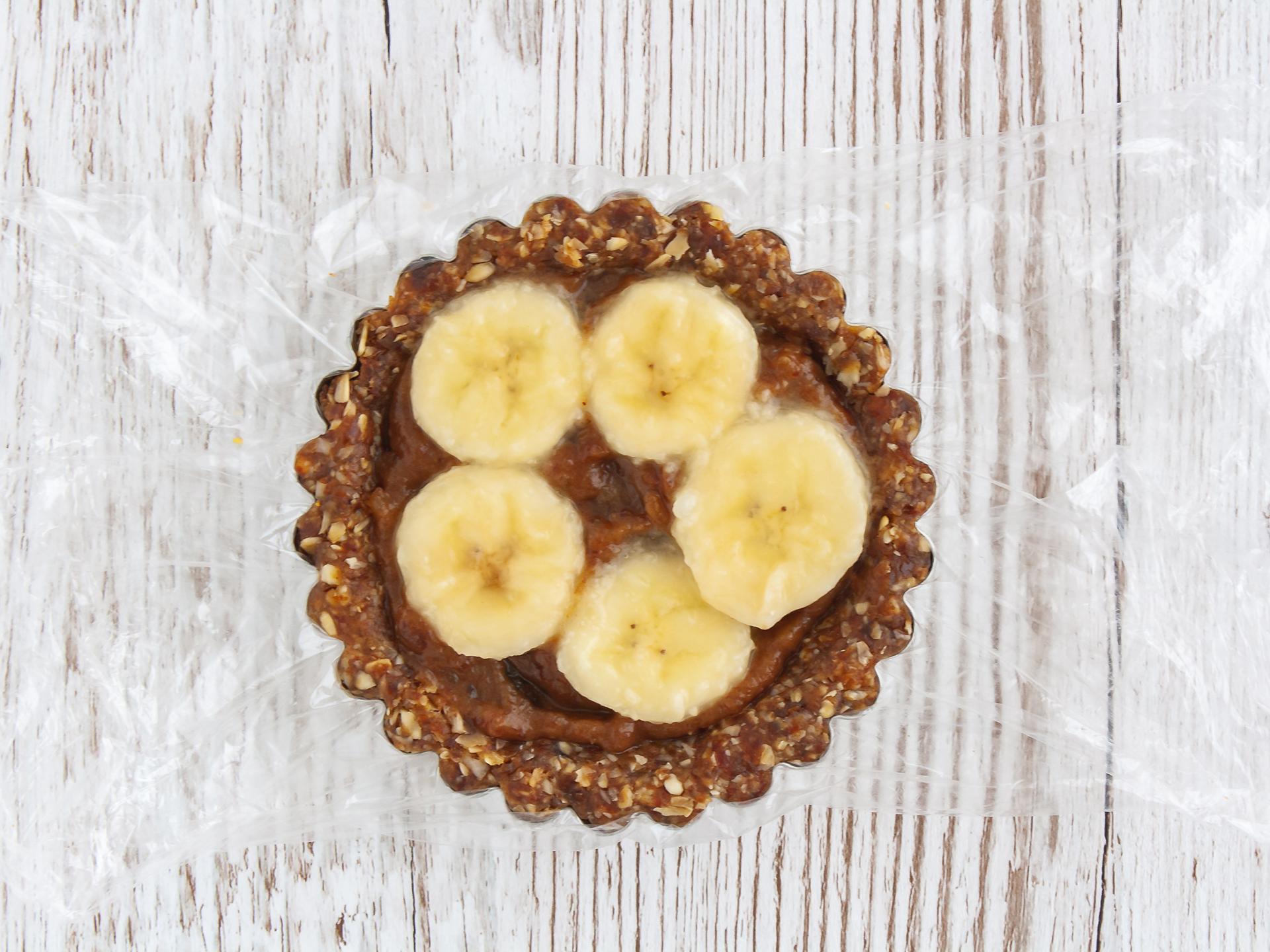 Step 4.2 of Gluten Free Vegan Banoffee Pie