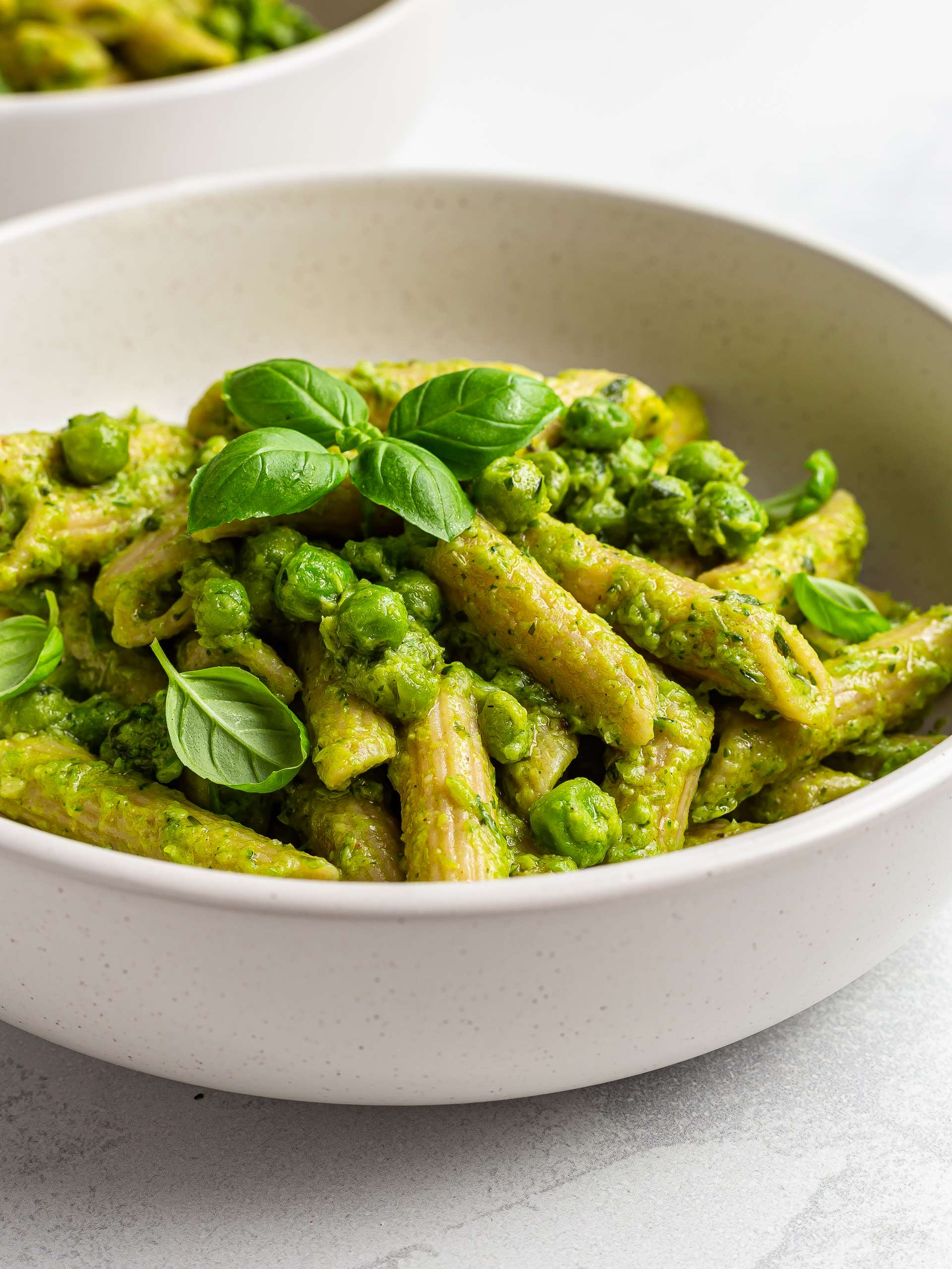 High-Fibre Pasta with Green Peas Recipe Thumbnail