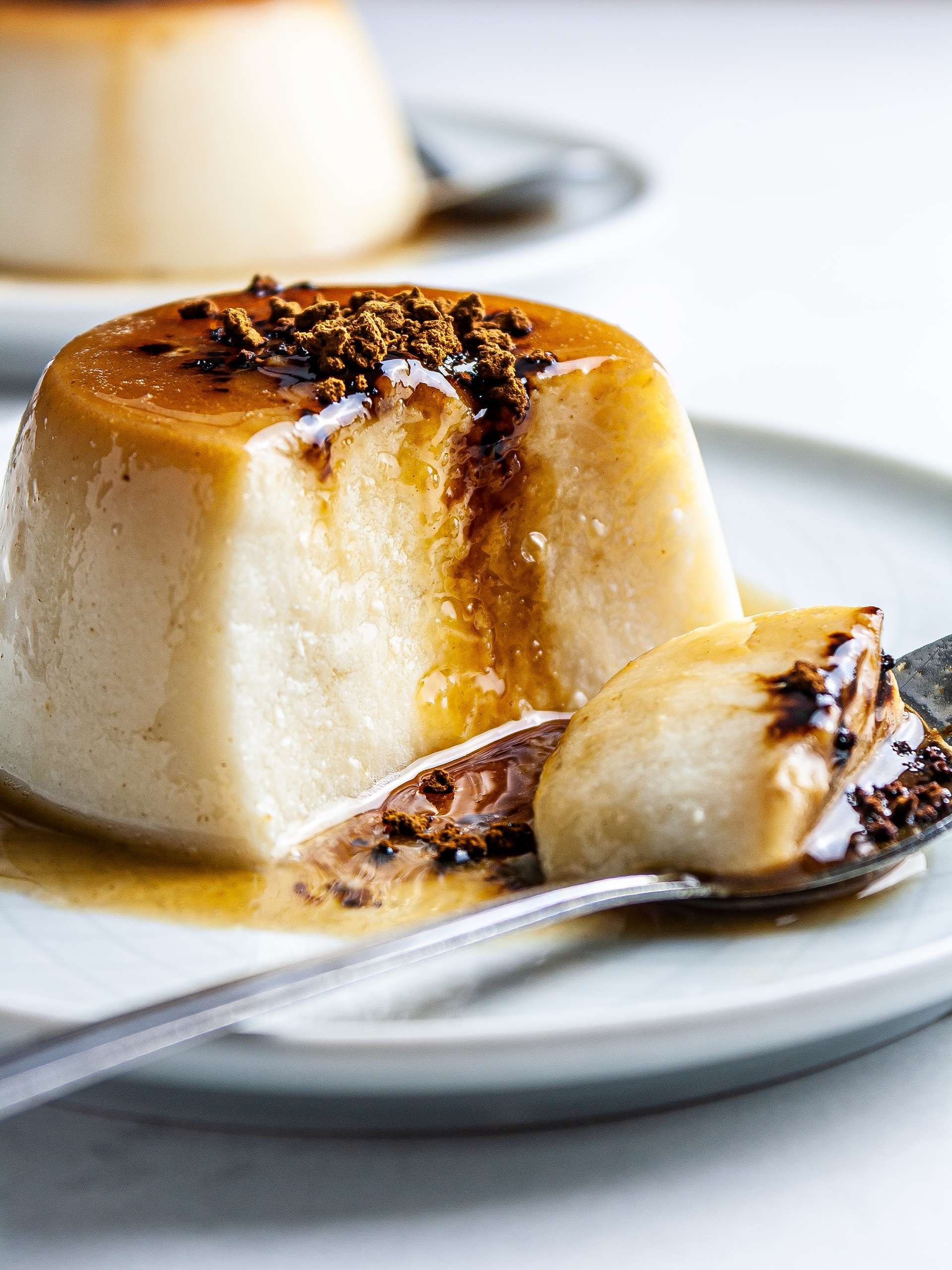 {Vegan & Sugar-Free} Vietnamese Coffee Flan Recipe Thumbnail