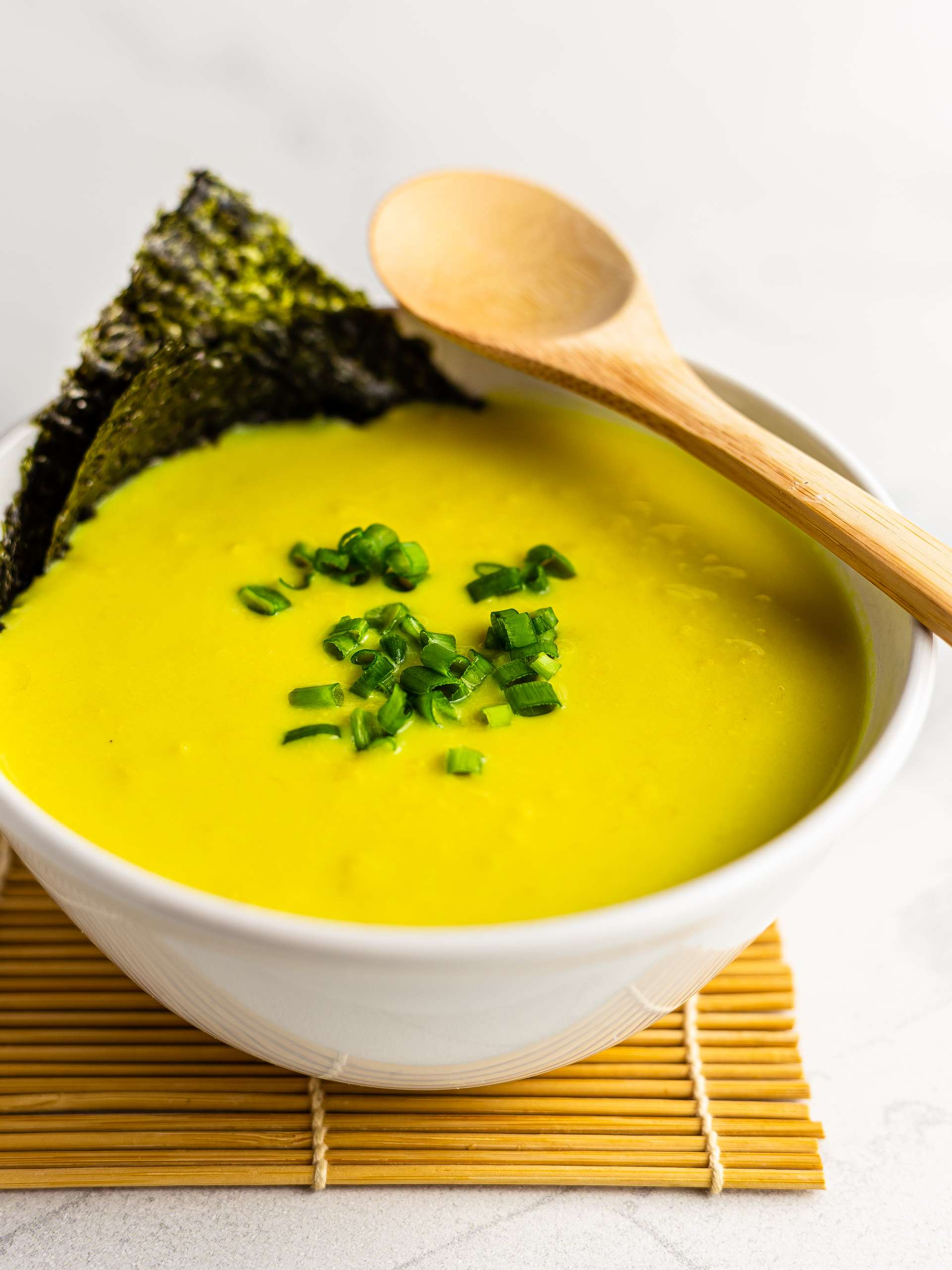 Japanese Corn Soup with Silken Tofu  Thumbnail