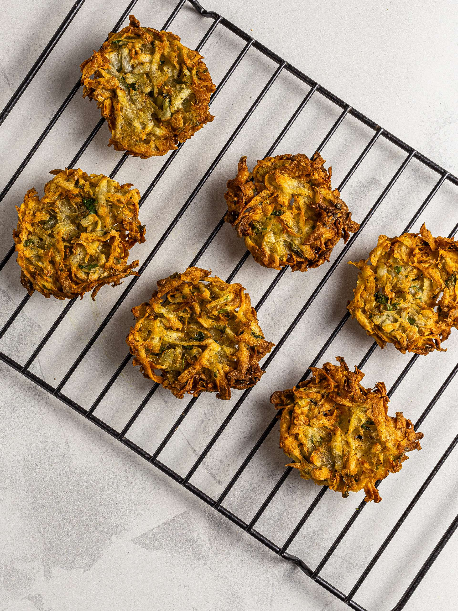 Crispy hash browns made with air fryer