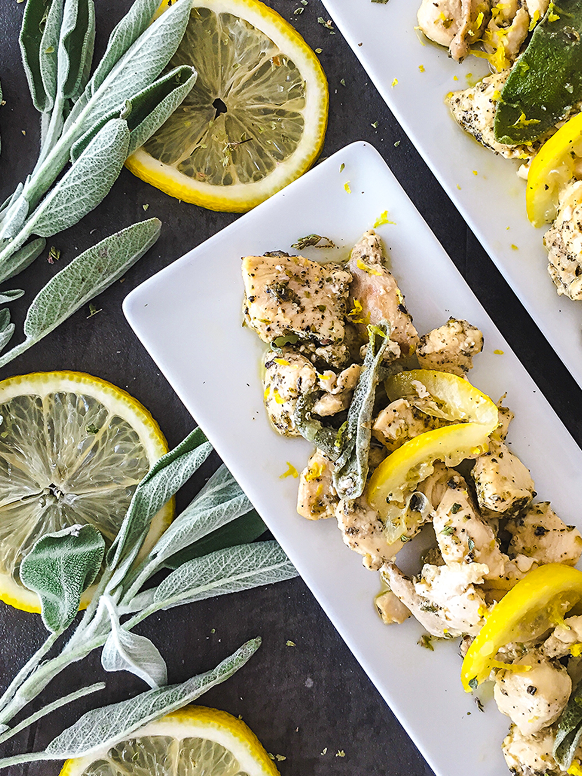 Keto Lemon Chicken with Sage Thumbnail
