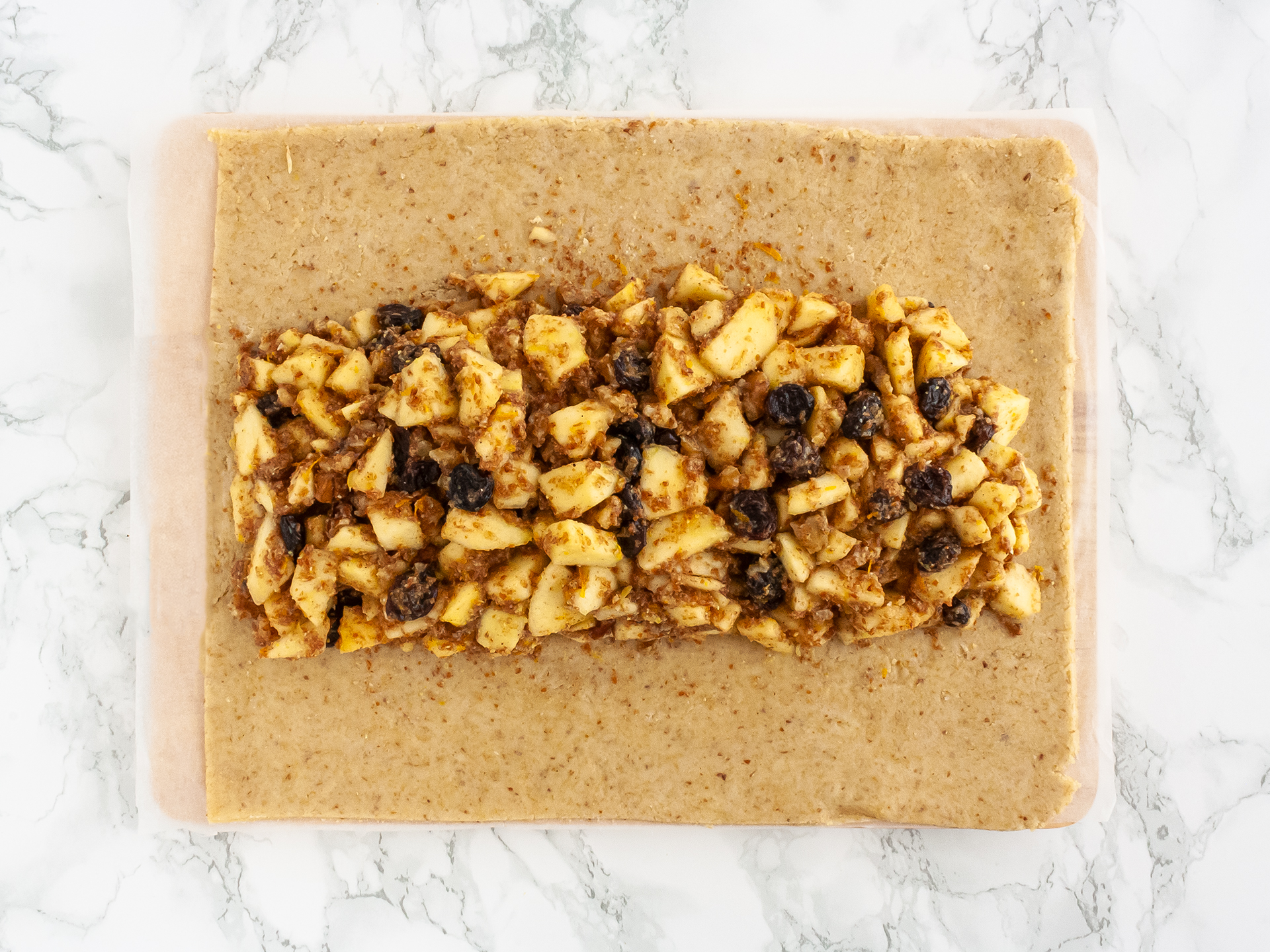 Step 3.1 of Gluten Free Apple Strudel Recipe