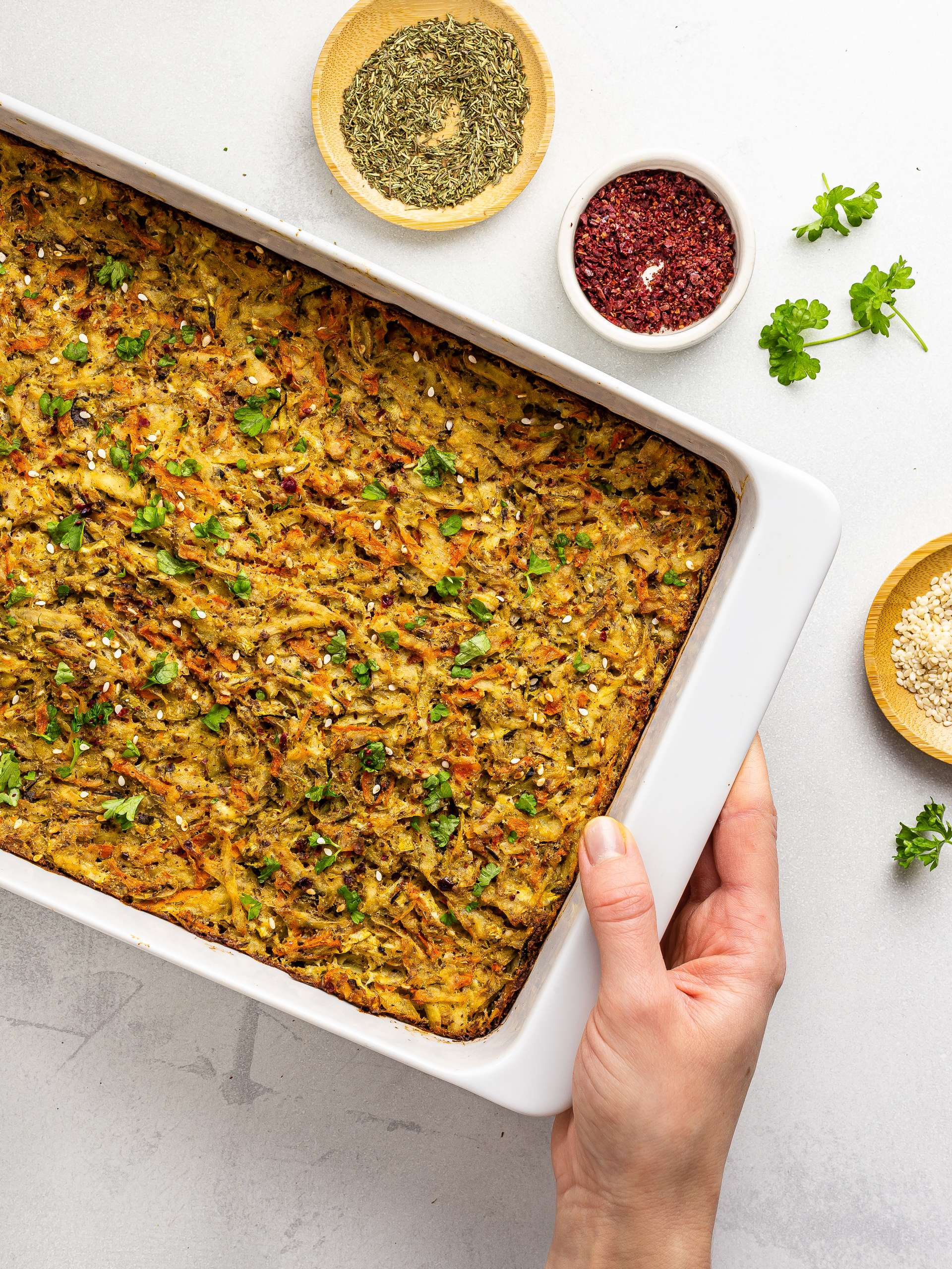 Vegan Kugel Recipe Thumbnail