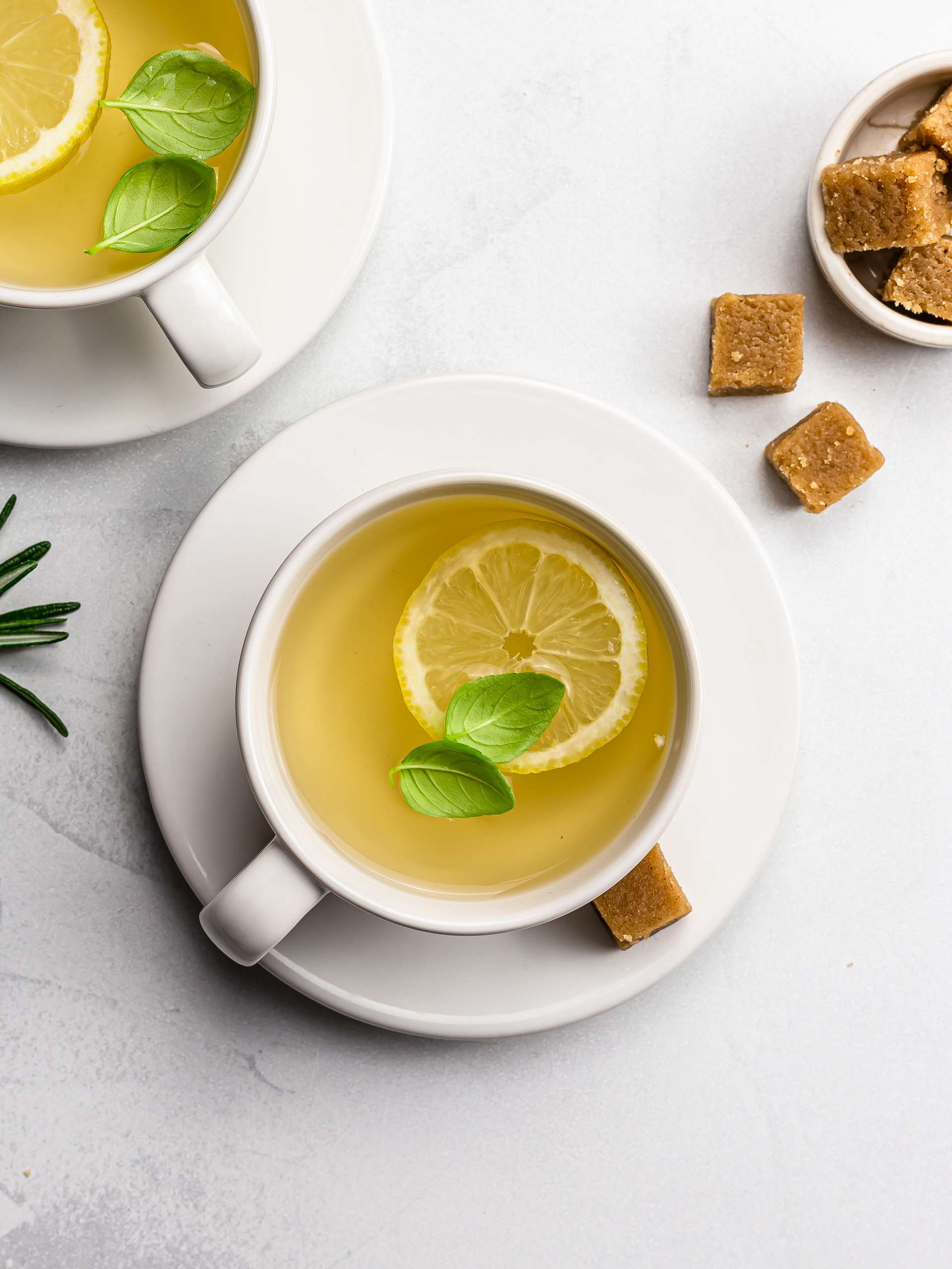 Fresh Herbal Tea (great hot or cold)