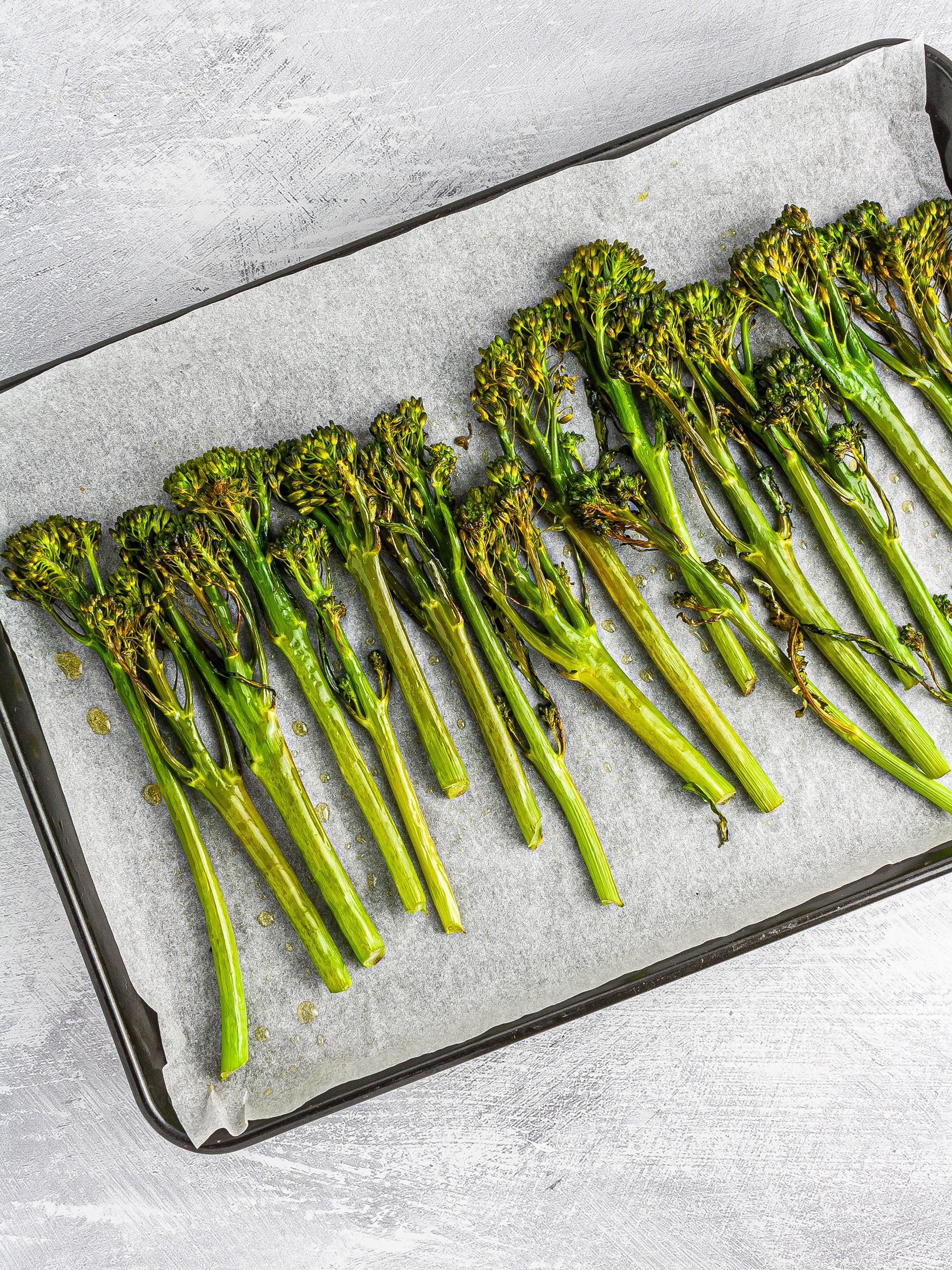 Step 1.2 of Barley Tabbouleh with Tenderstem Broccoli