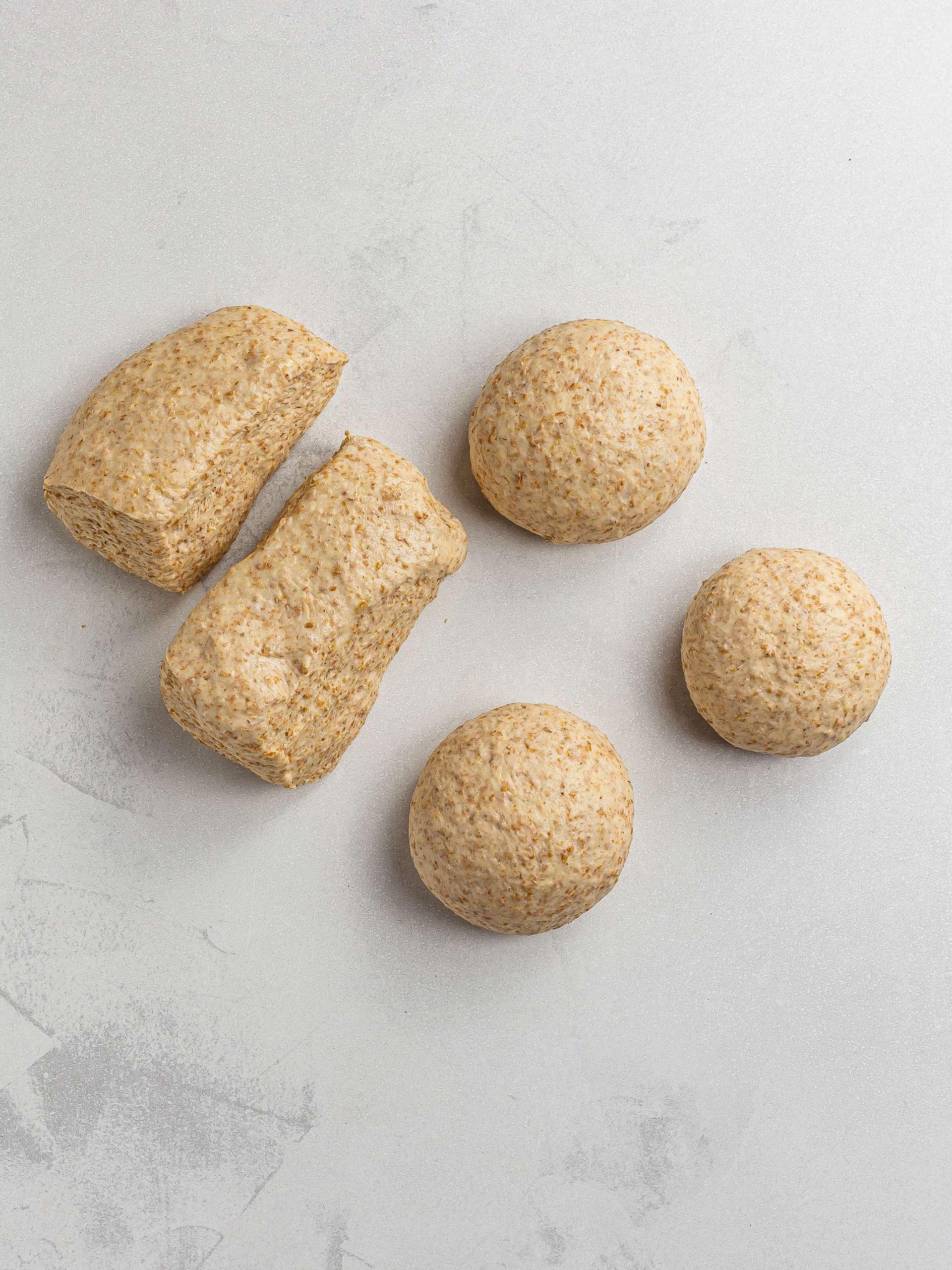 lavash bread pieces