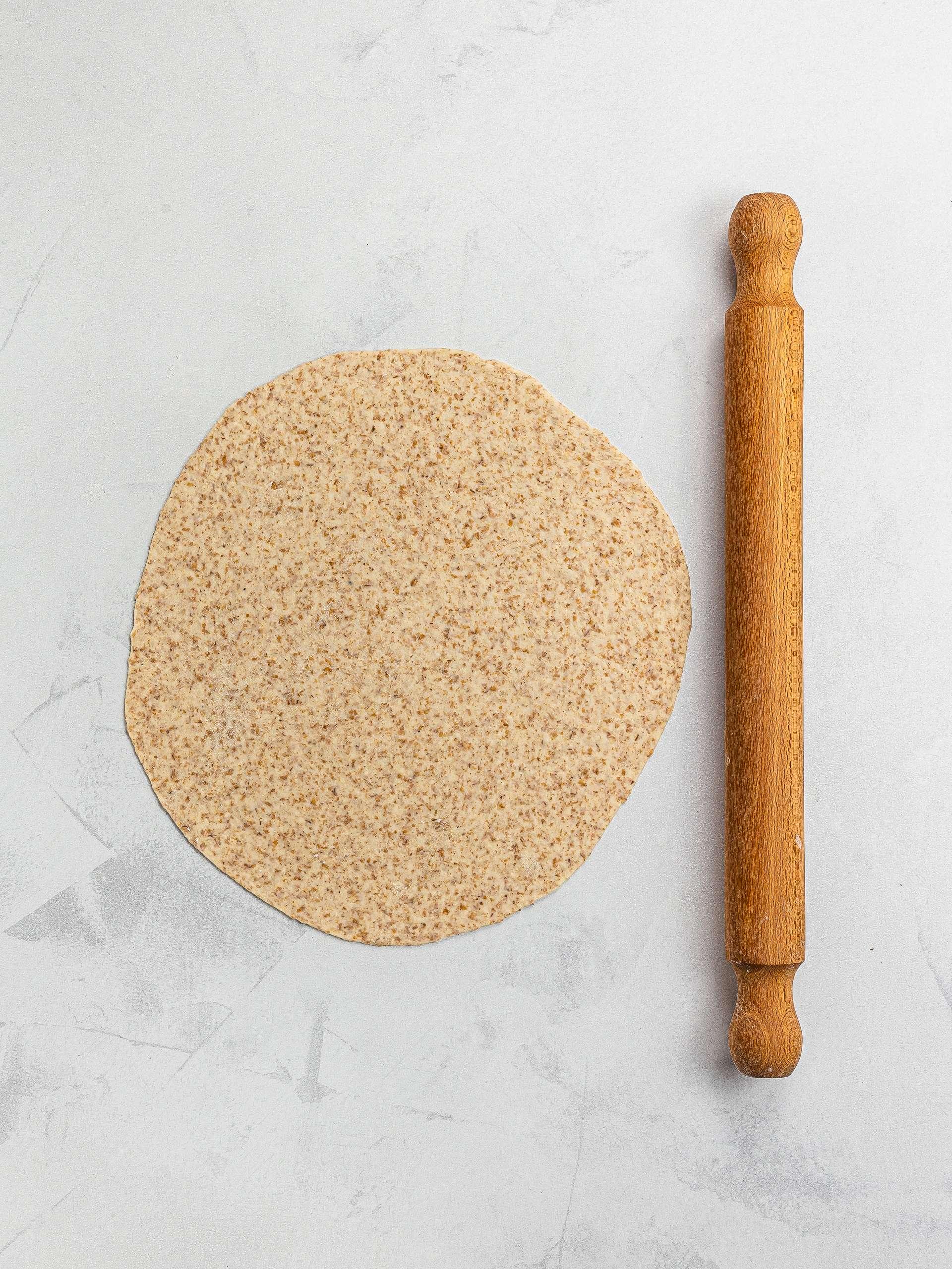 round lavash flatbread