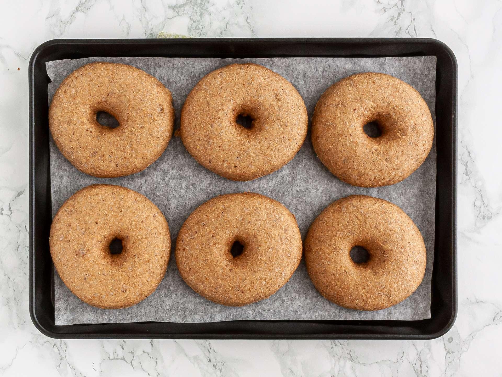 Step 5.1 of Egg Free Doughnuts Recipe