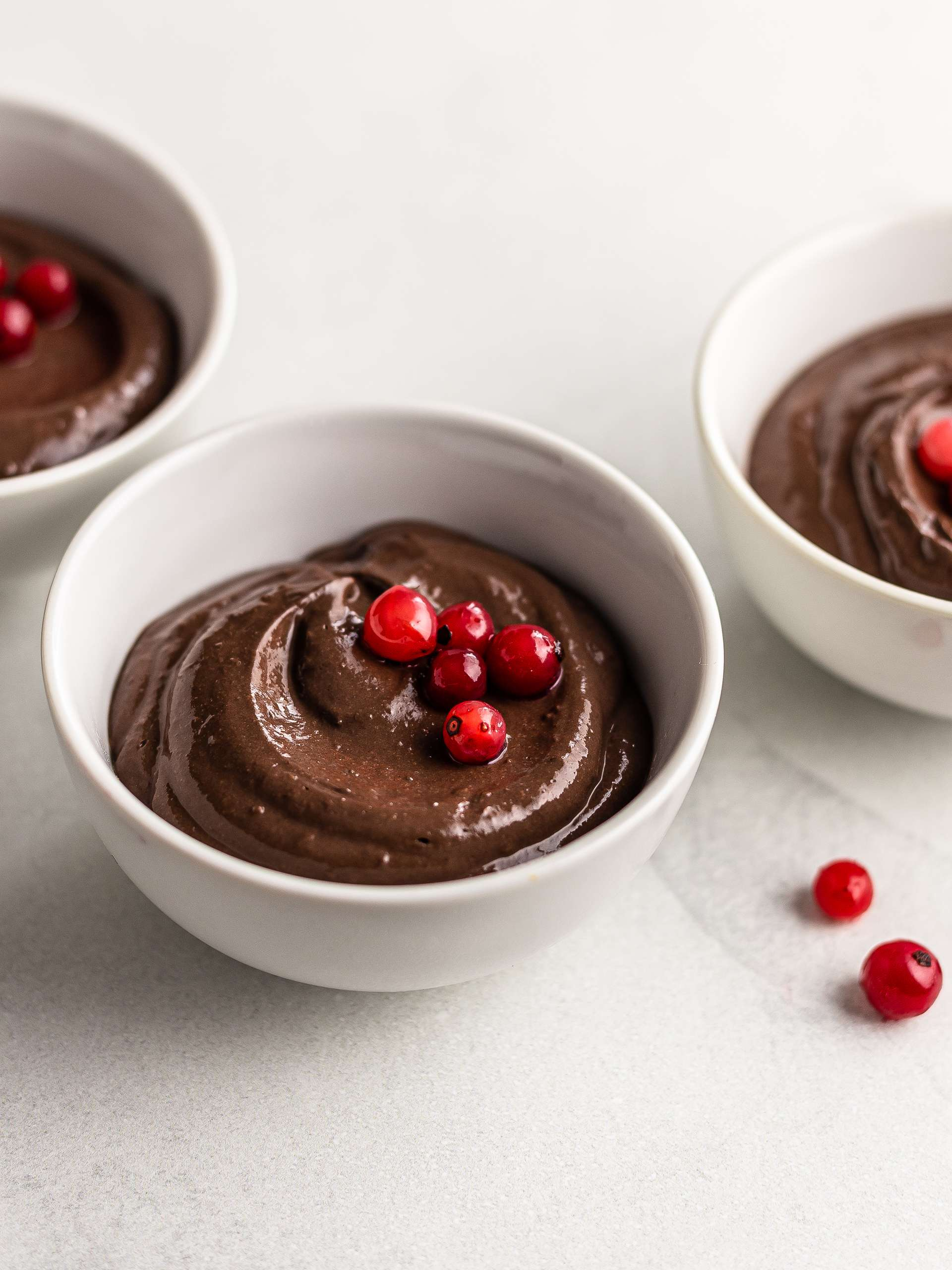Silken Tofu Chocolate Mousse {Low-Fat, Sugar-Free}