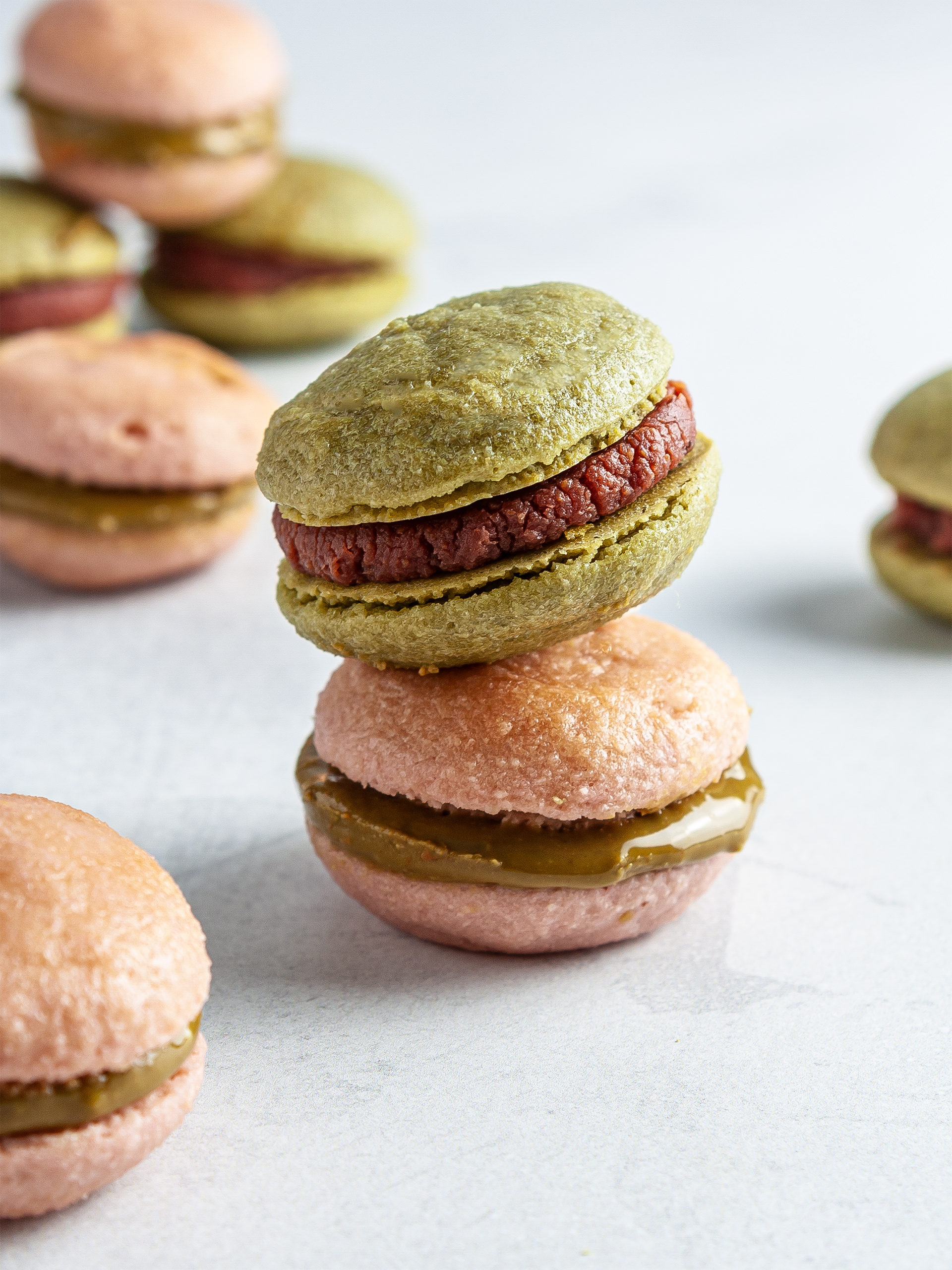 Sugar-Free Vegan Macarons Recipe Thumbnail