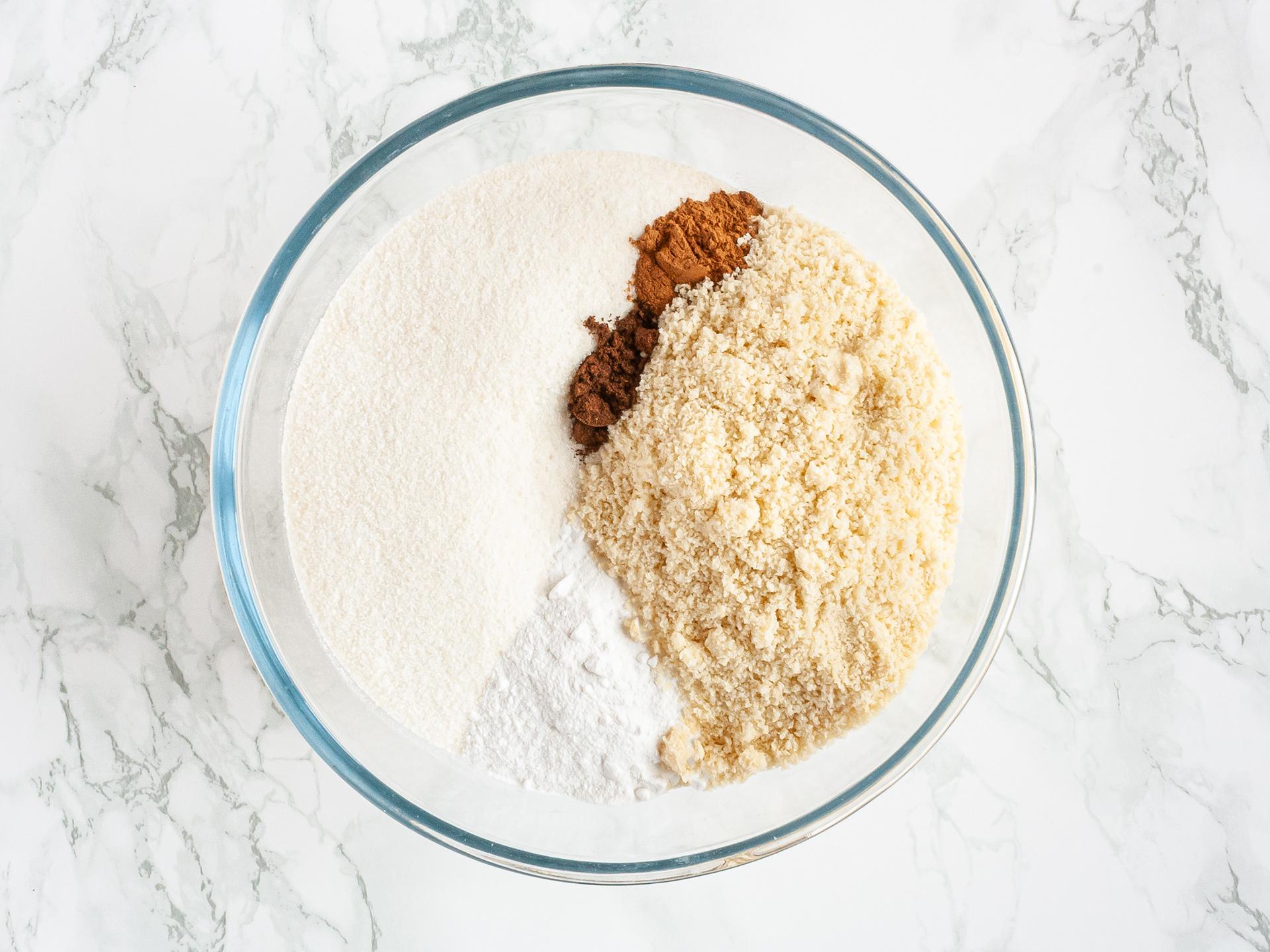 Step 2.1 of Gluten Free Apple Cake Recipe