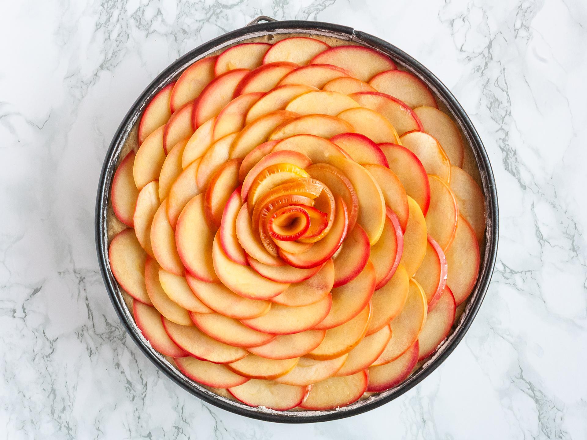 Step 4.1 of Gluten Free Apple Cake Recipe