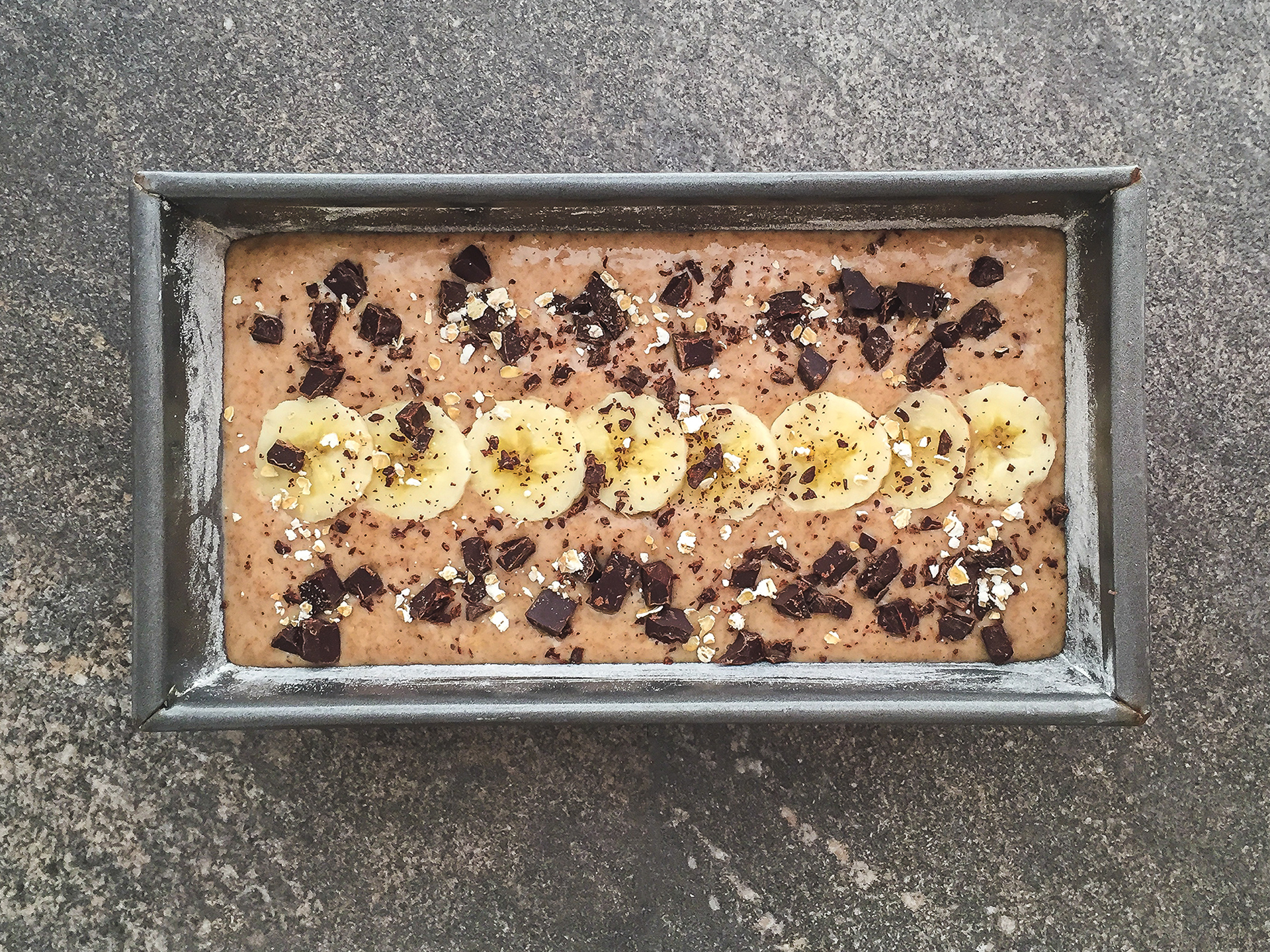 Step 5.1 of Banana Bread with Almond Milk and Chocolate Chips Recipe