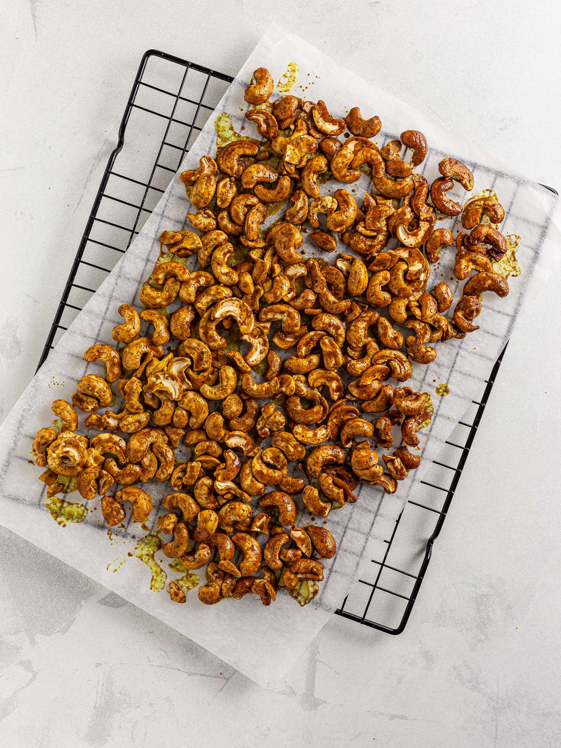 turmeric honey roasted cashews