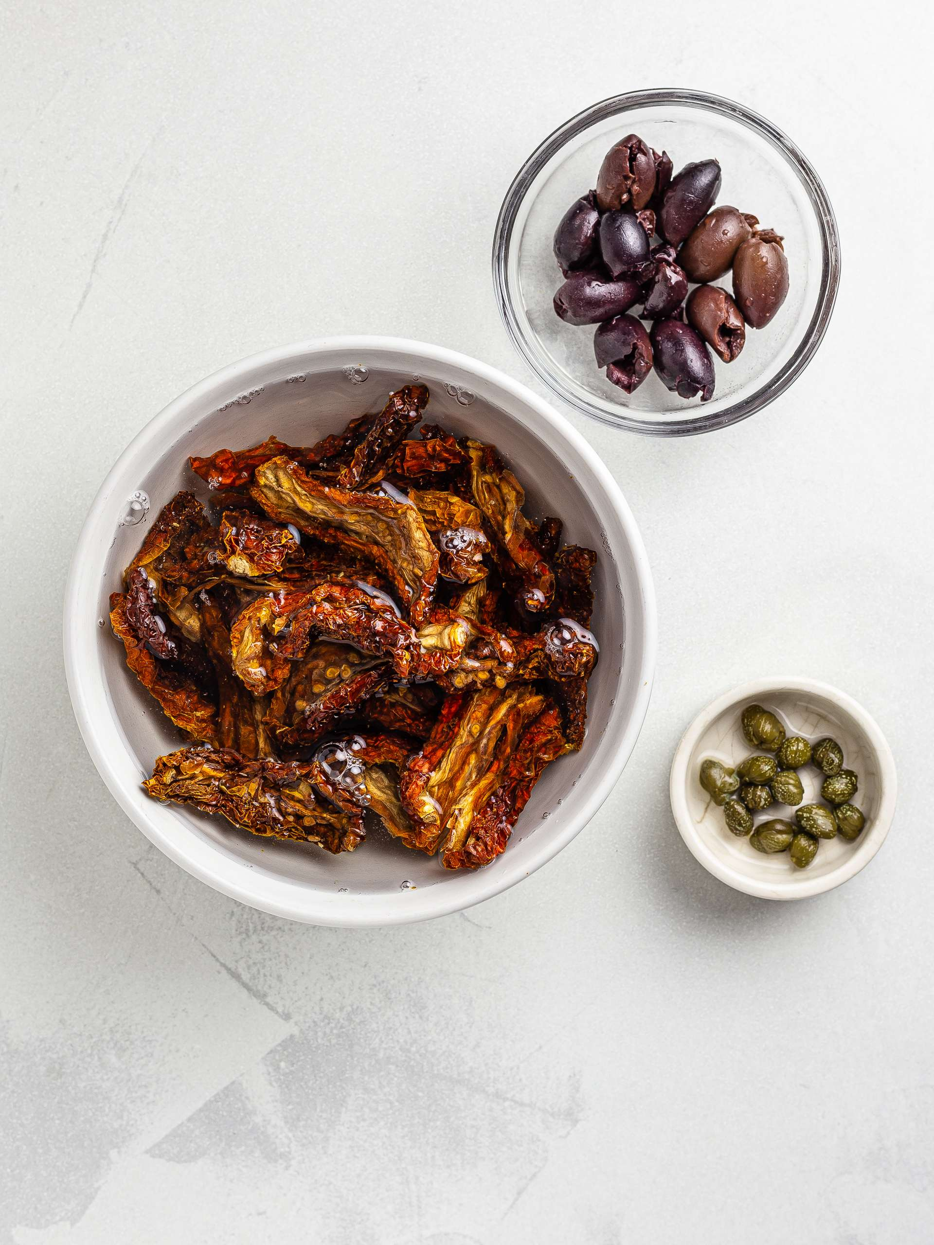 soaked dried tomatoes