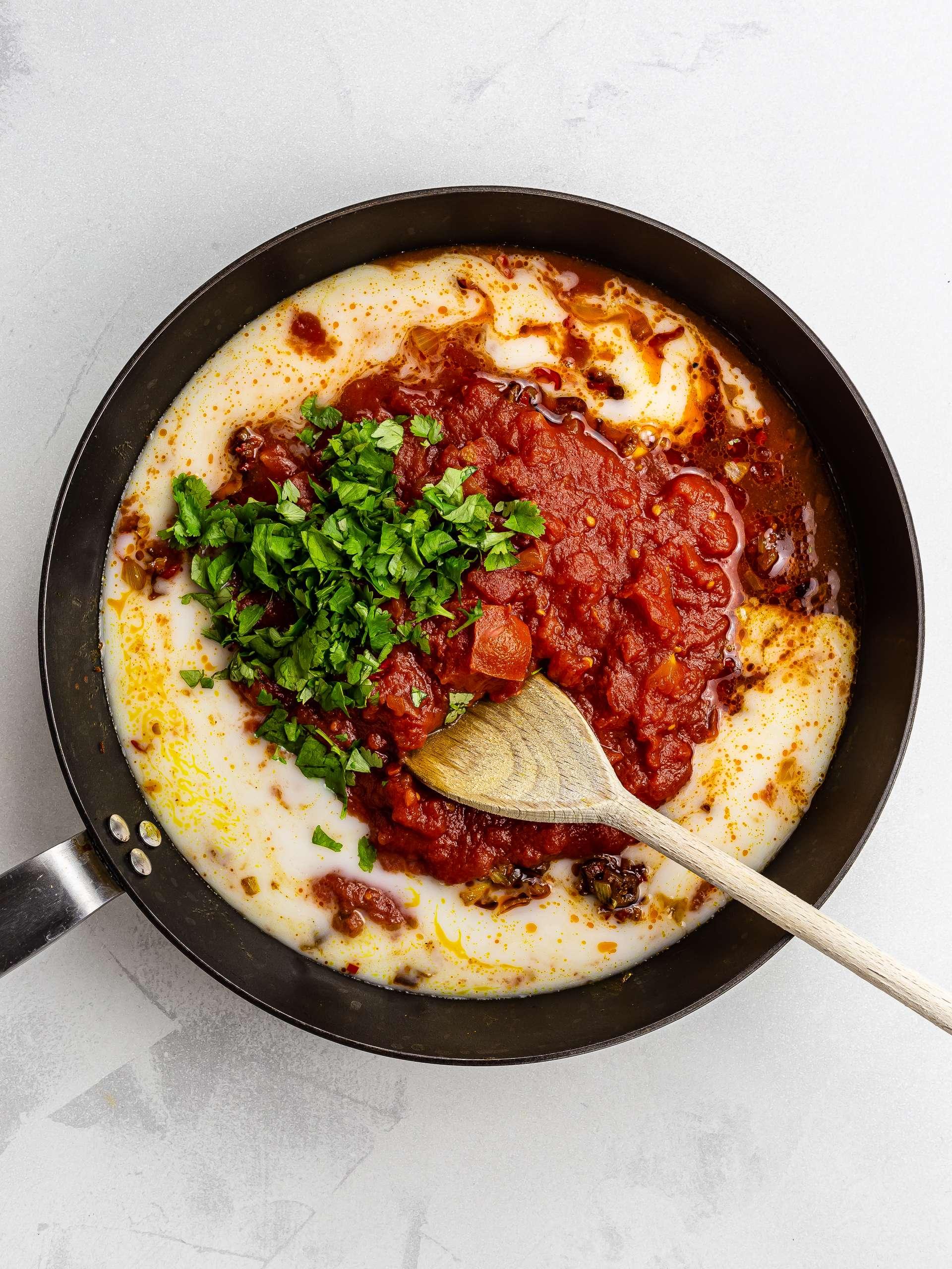 vegan tikka masala curry sauce