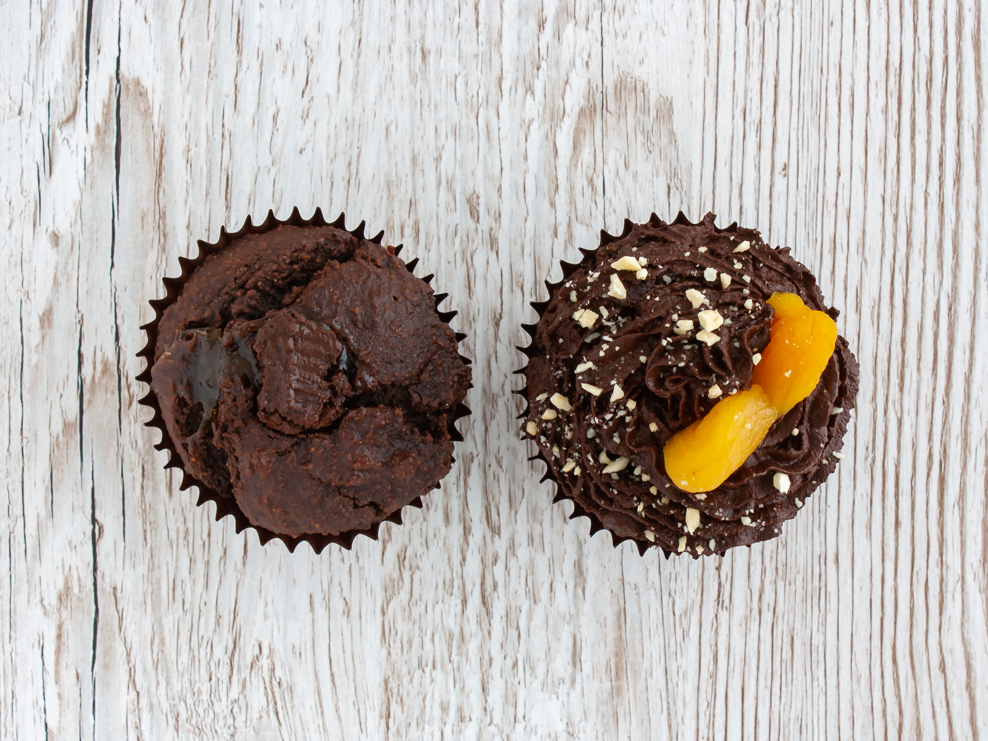 Step 5.2 of Gluten Free Vegan Chocolate Cupcakes with Apricot Jam Recipe