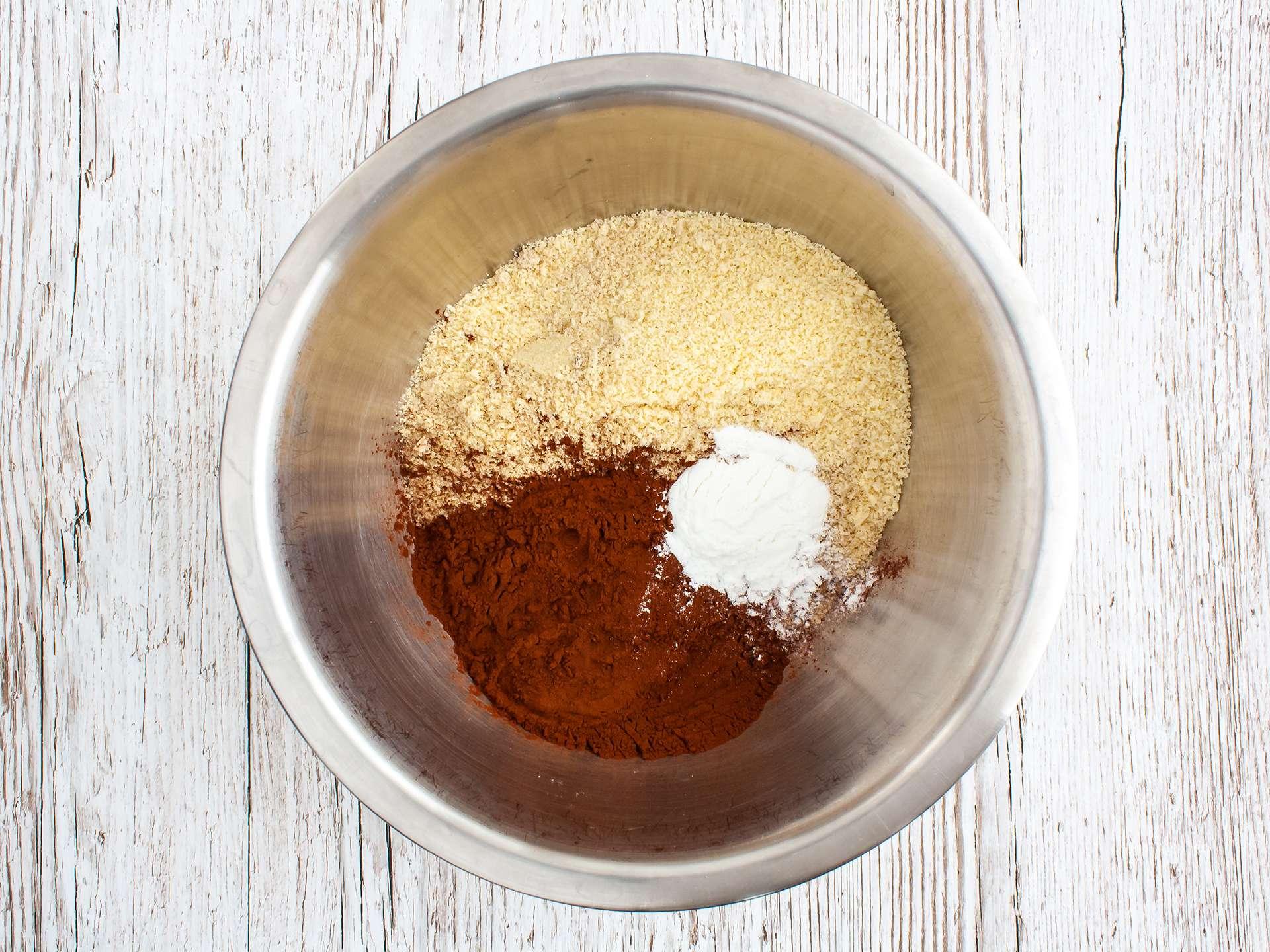 Step 2.1 of Gluten Free Vegan Chocolate Cupcakes with Apricot Jam Recipe