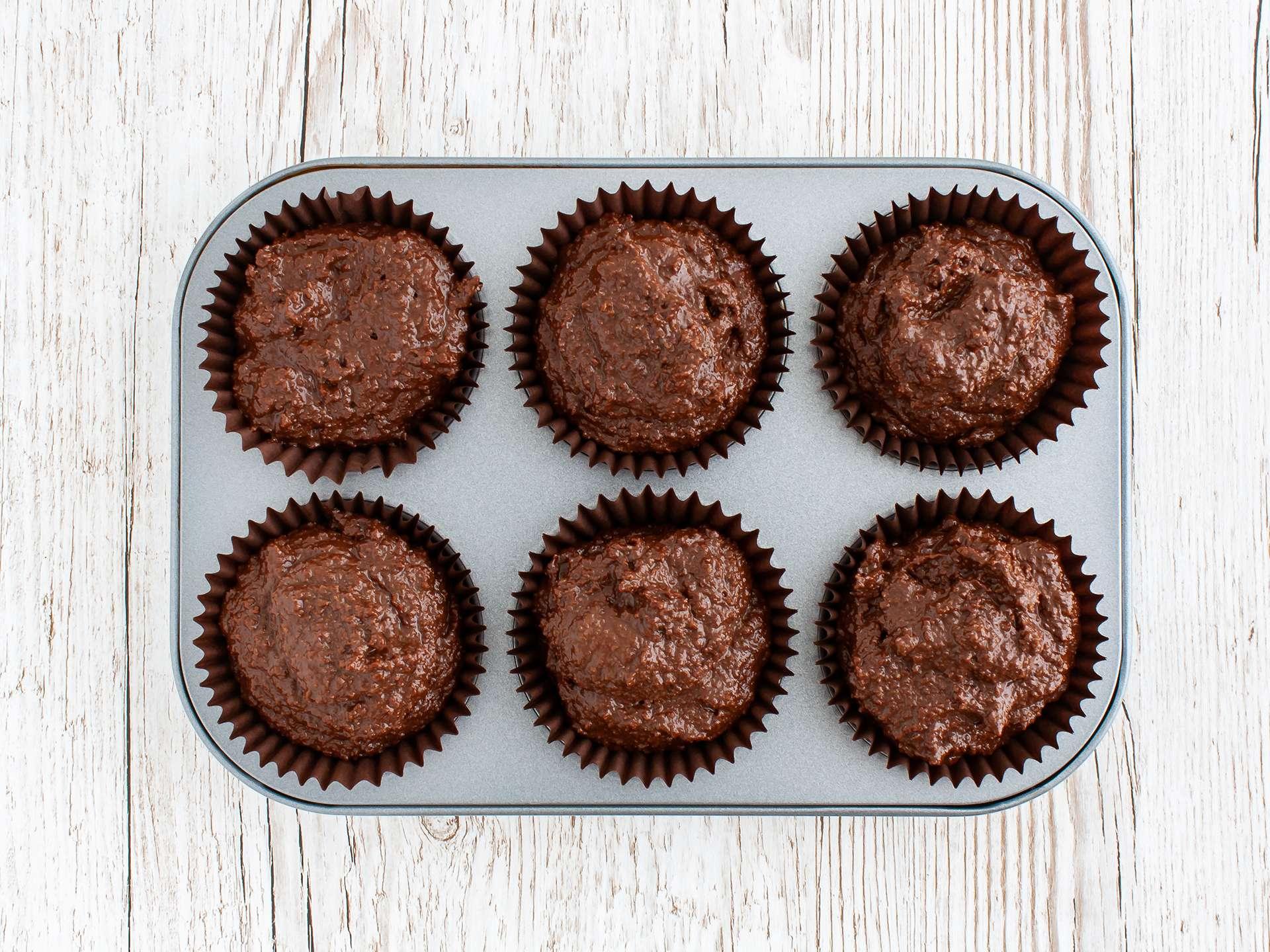 Step 3.1 of Gluten Free Vegan Chocolate Cupcakes with Apricot Jam Recipe