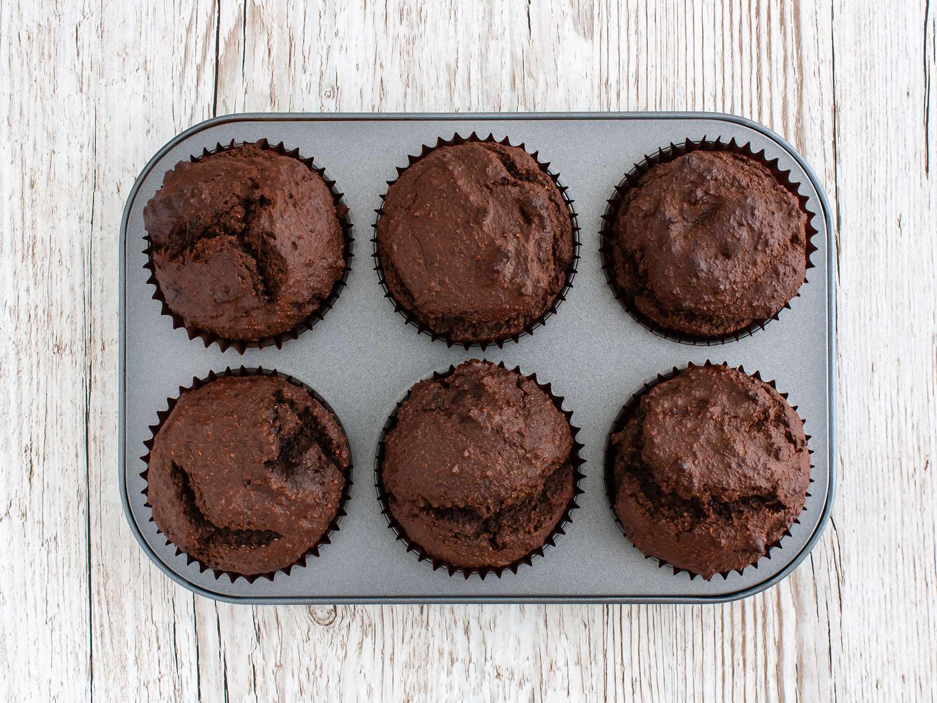 Step 3.2 of Gluten Free Vegan Chocolate Cupcakes with Apricot Jam Recipe