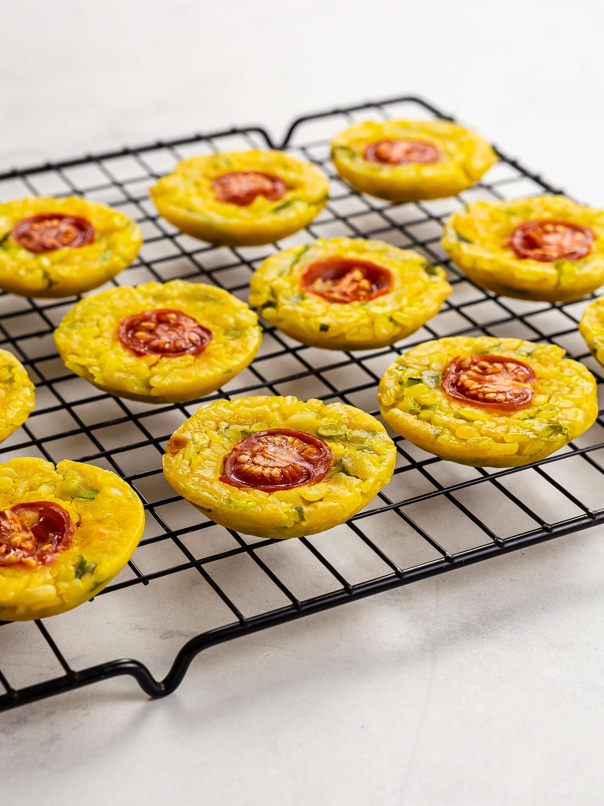 bankh khot pancakes on a rack