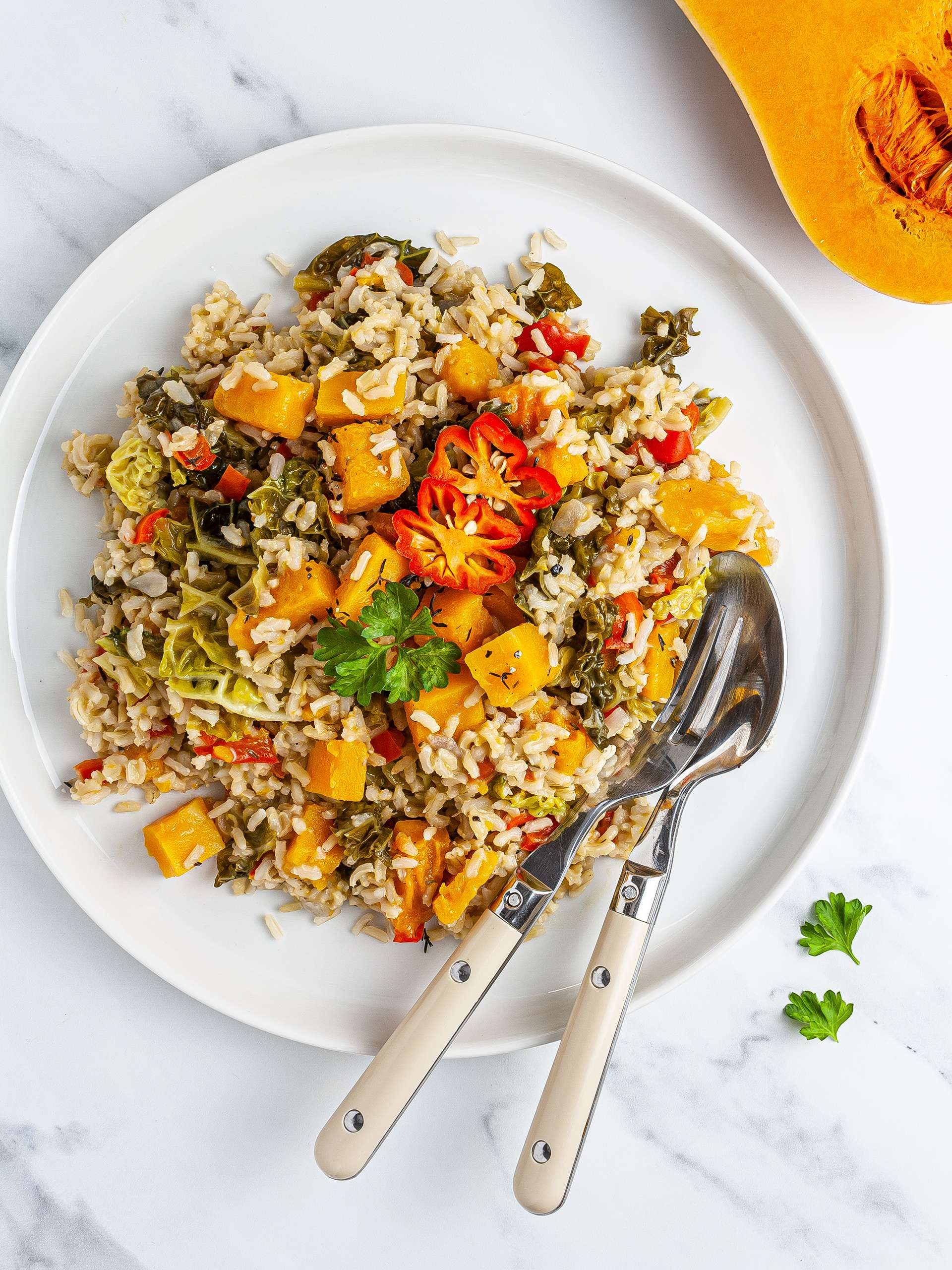 Jamaican Pumpkin Rice Recipe  Thumbnail