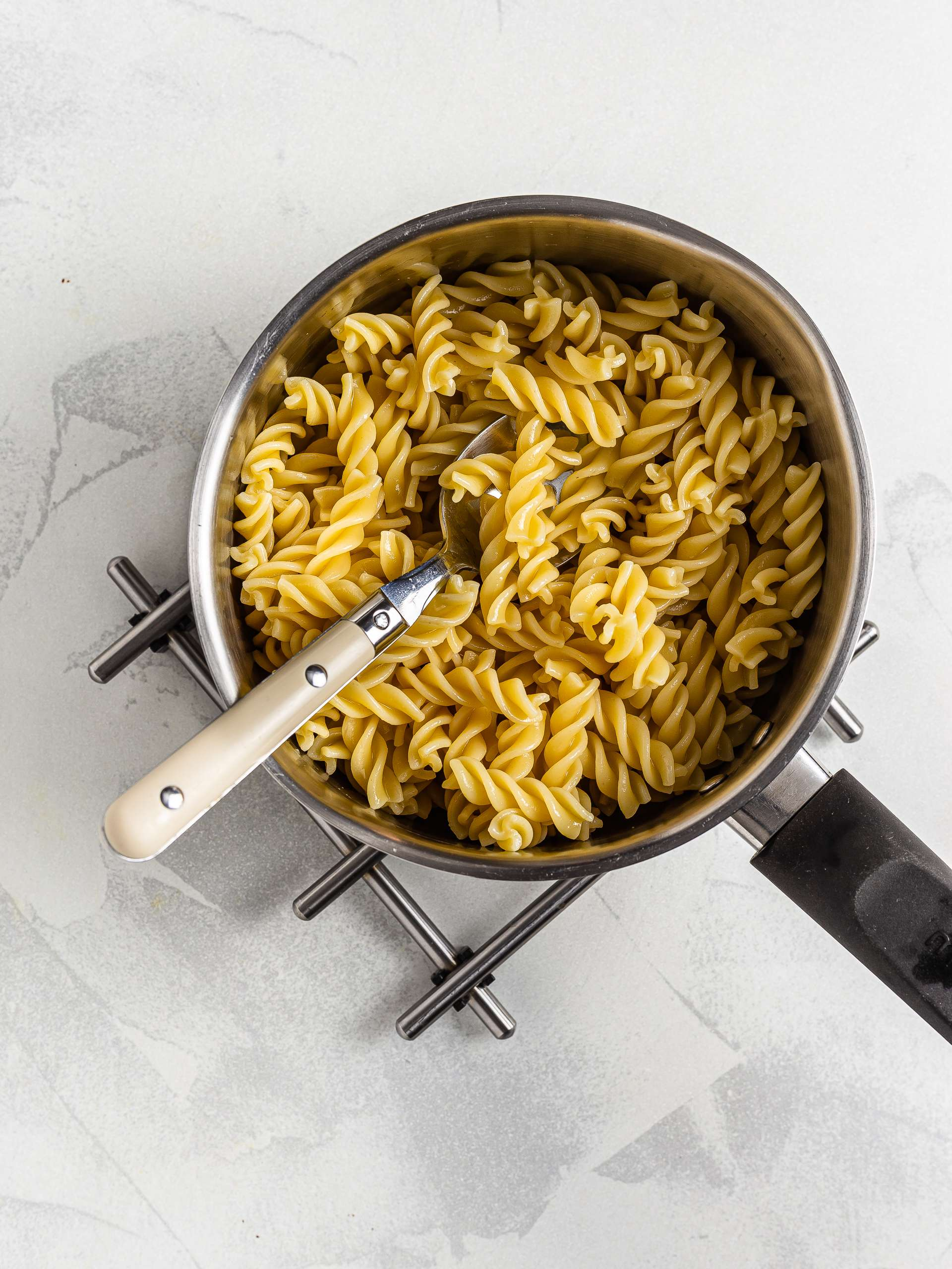 cooked quinoa pasta