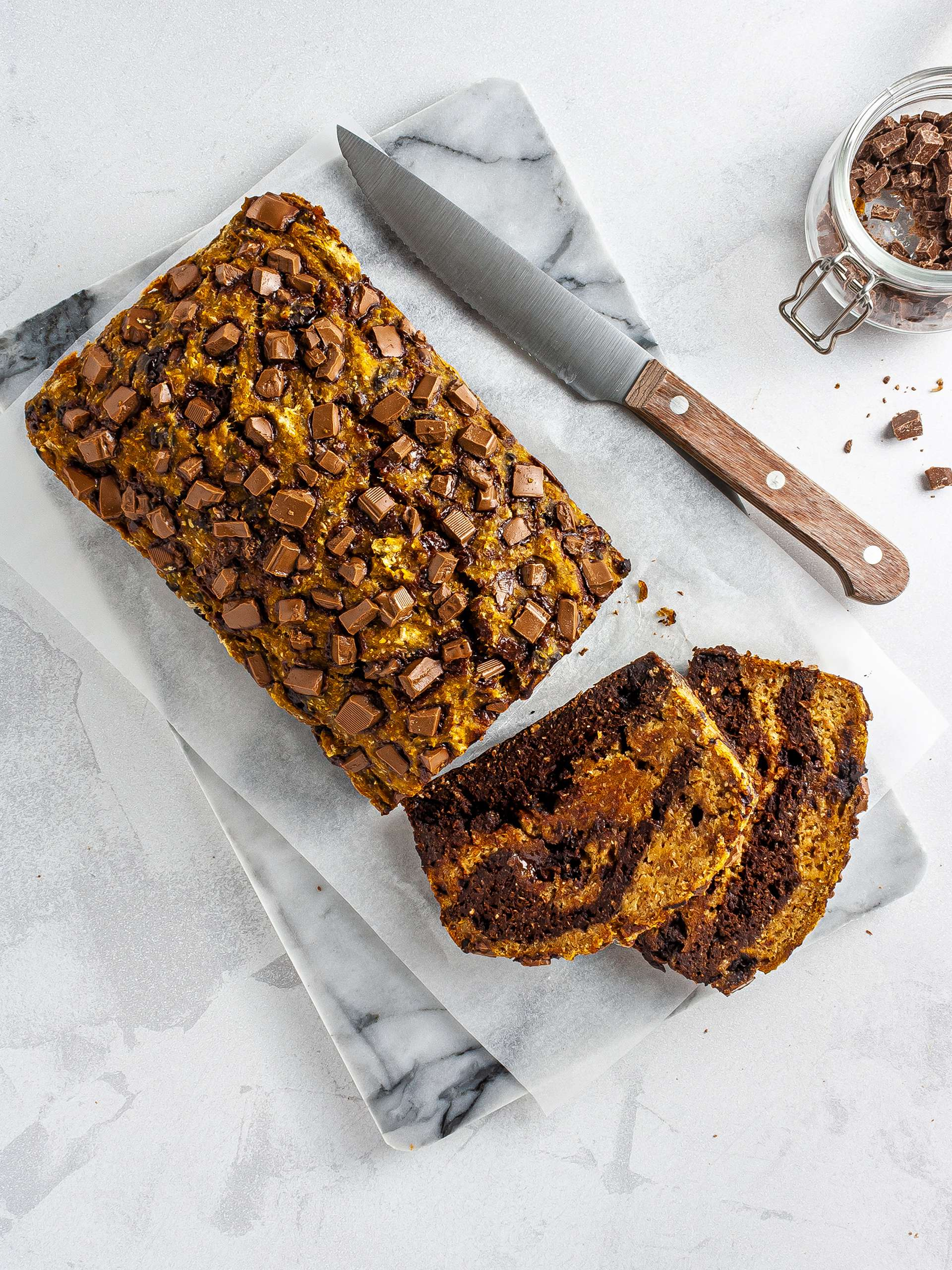 Vegan Pumpkin Chocolate Chip Bread Recipe Thumbnail