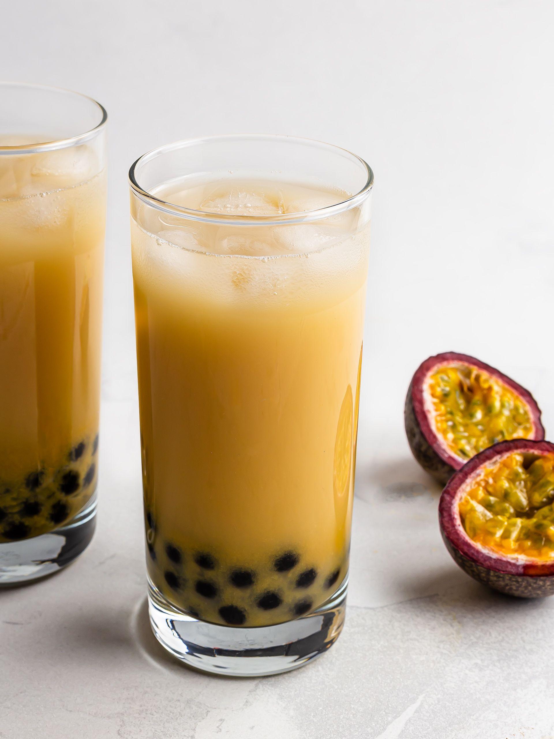 Passion Fruit Bubble Tea (Sugar-Free) Thumbnail