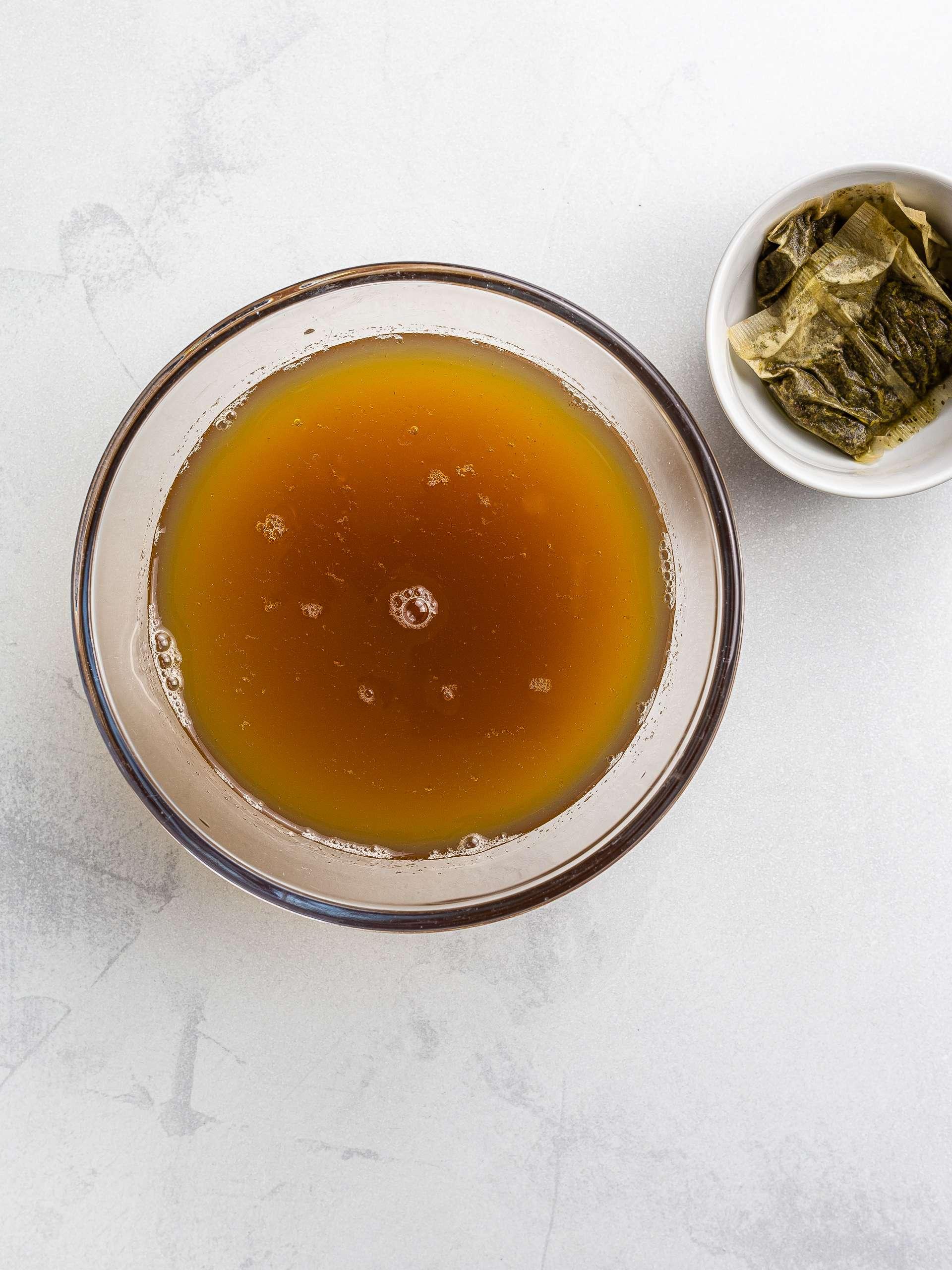green tea for bubble tea