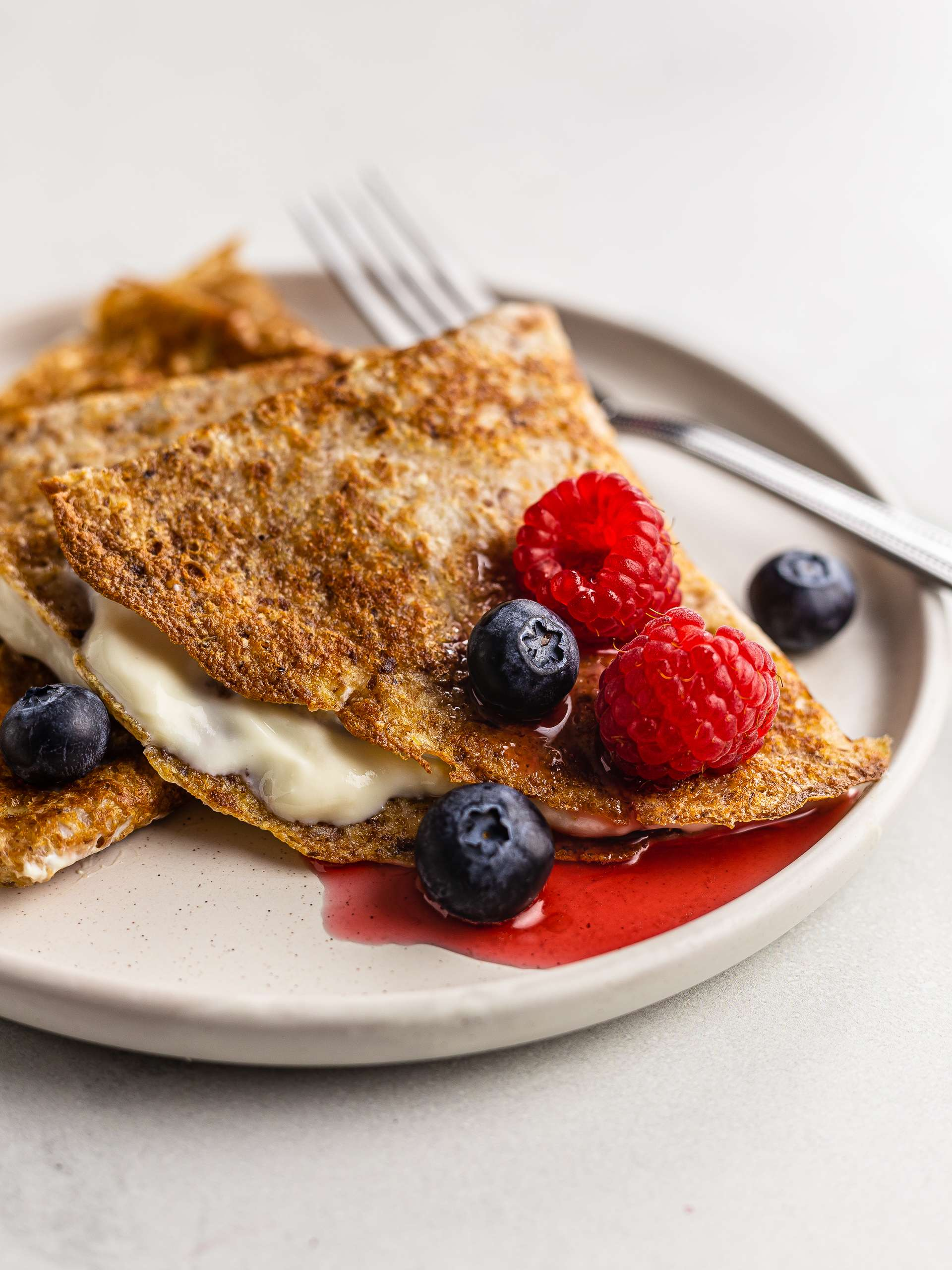 Almond Milk Crêpes with Flaxseeds Thumbnail