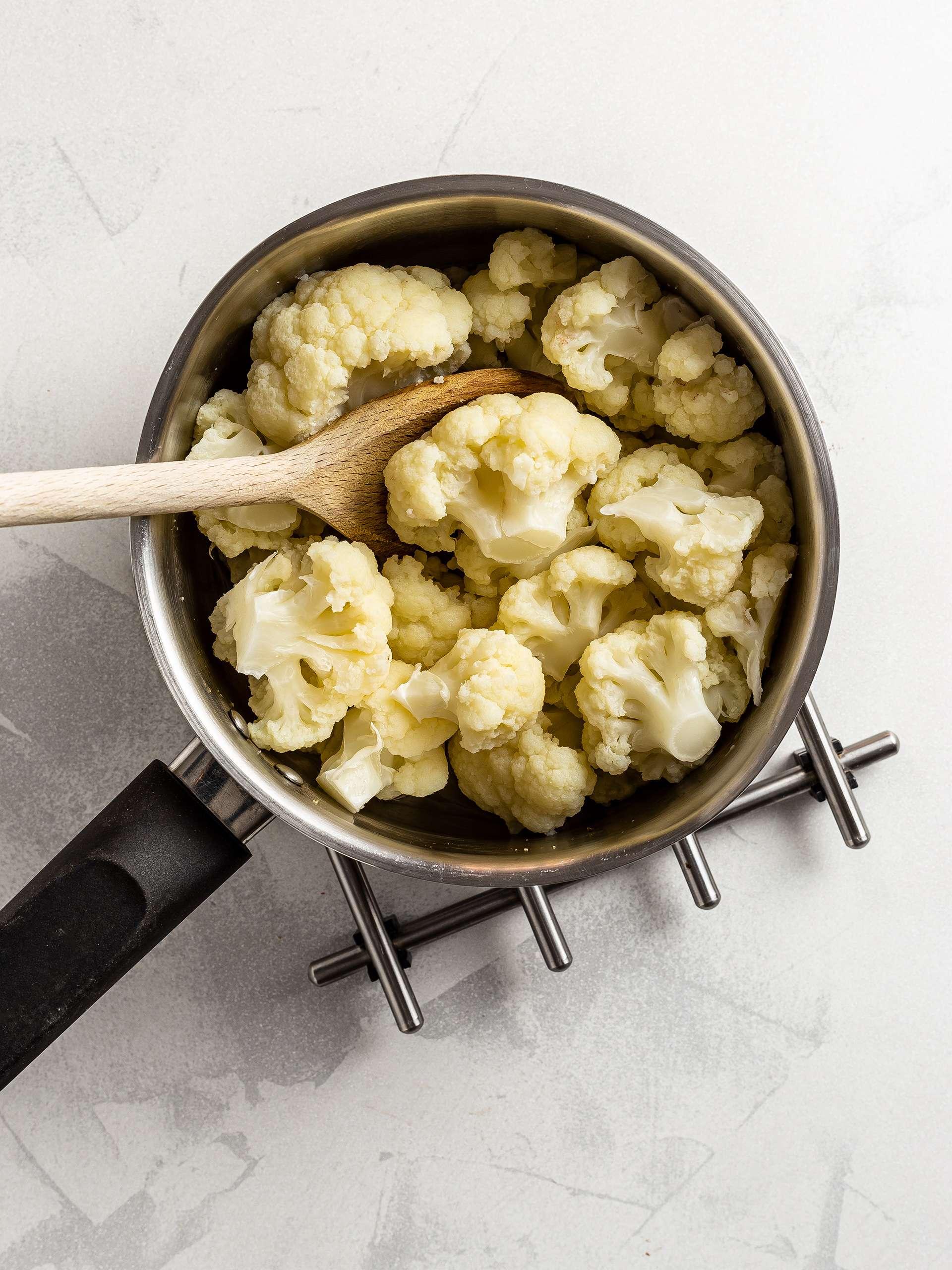 Cooked cauliflowers