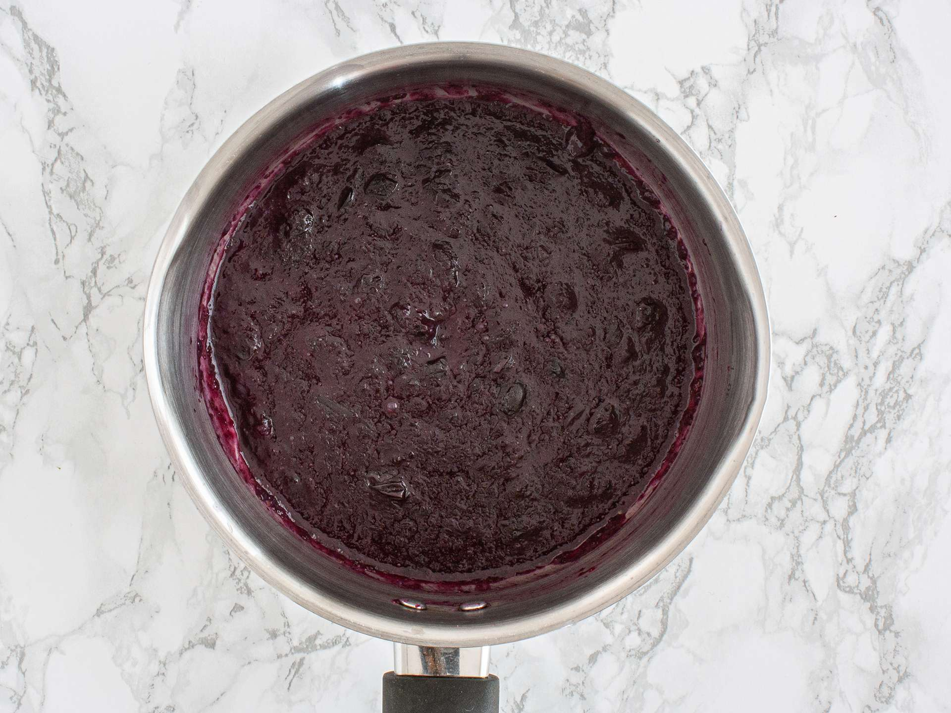 Step 3.1 of Sugar Free Blueberry Jam Recipe with Flaxseeds