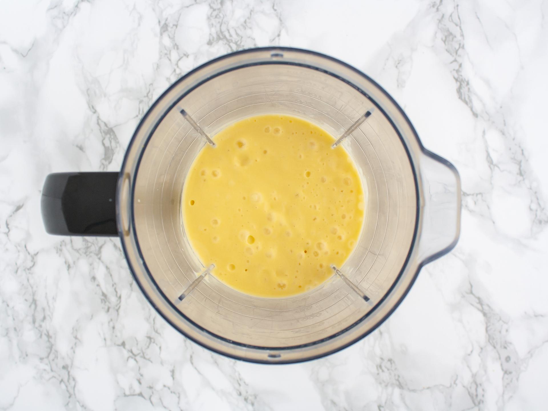 Step 2.2 of No Bake Vegan Mango Crème Brûlée
