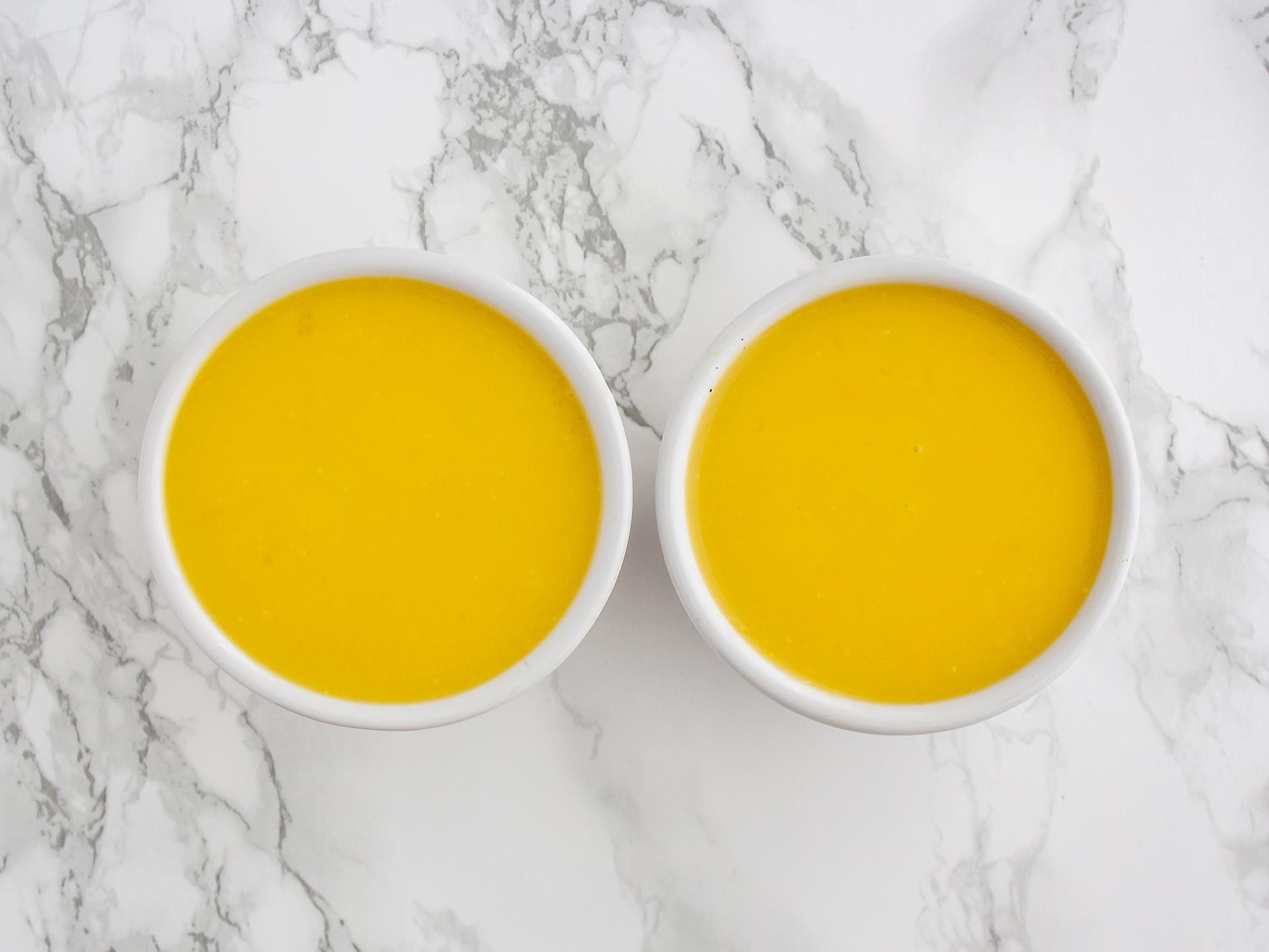 Step 3.2 of No Bake Vegan Mango Crème Brûlée