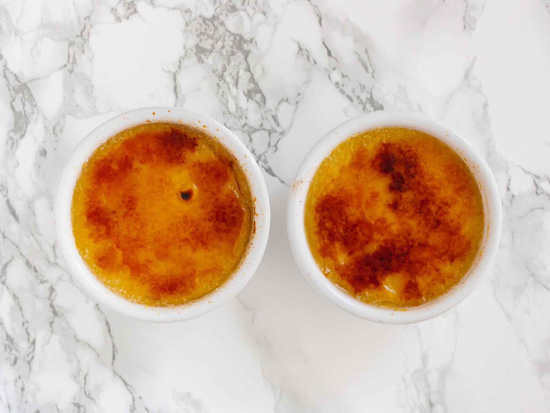 Step 4.2 of No Bake Vegan Mango Crème Brûlée