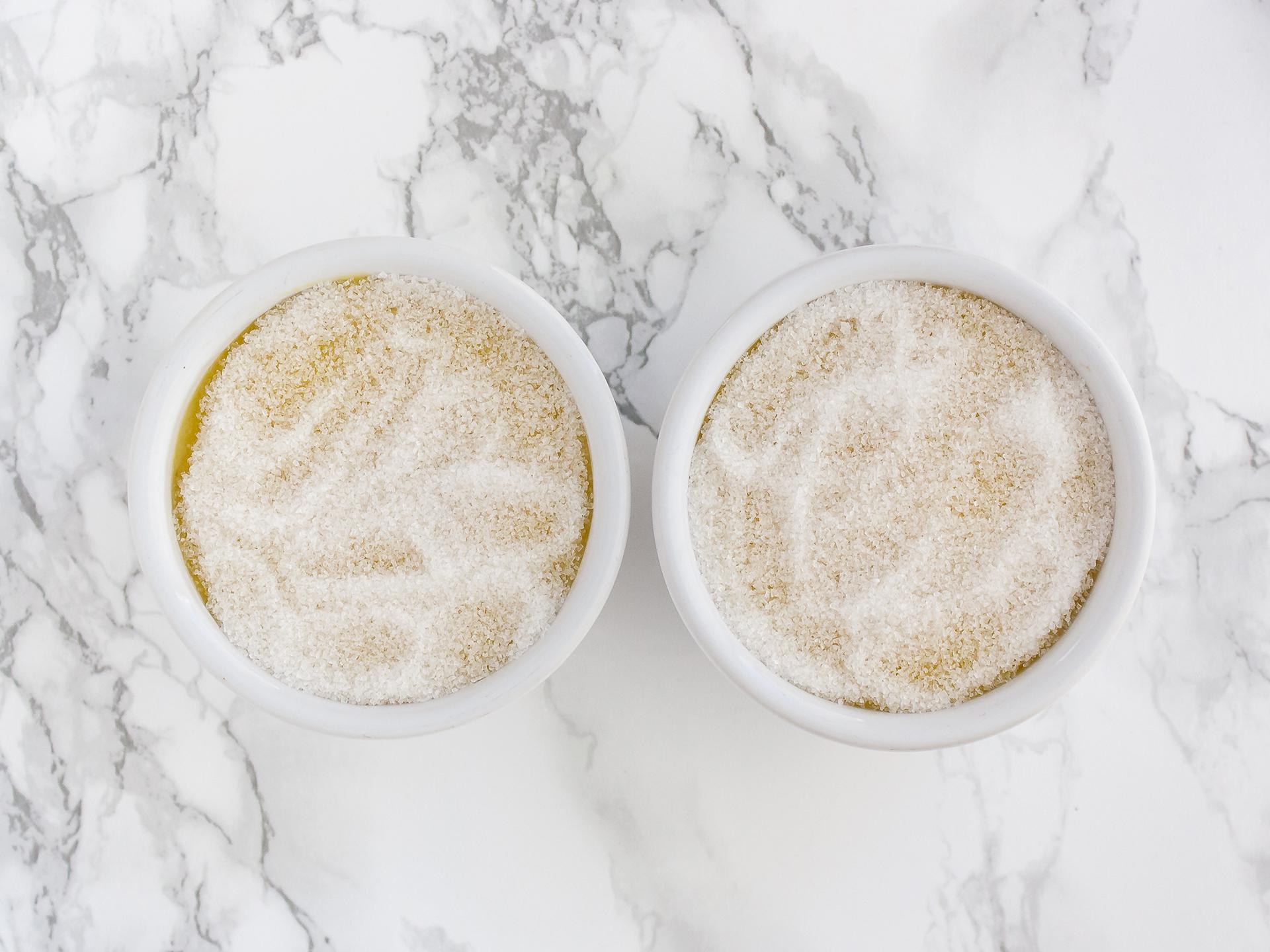Step 4.1 of No Bake Vegan Mango Crème Brûlée