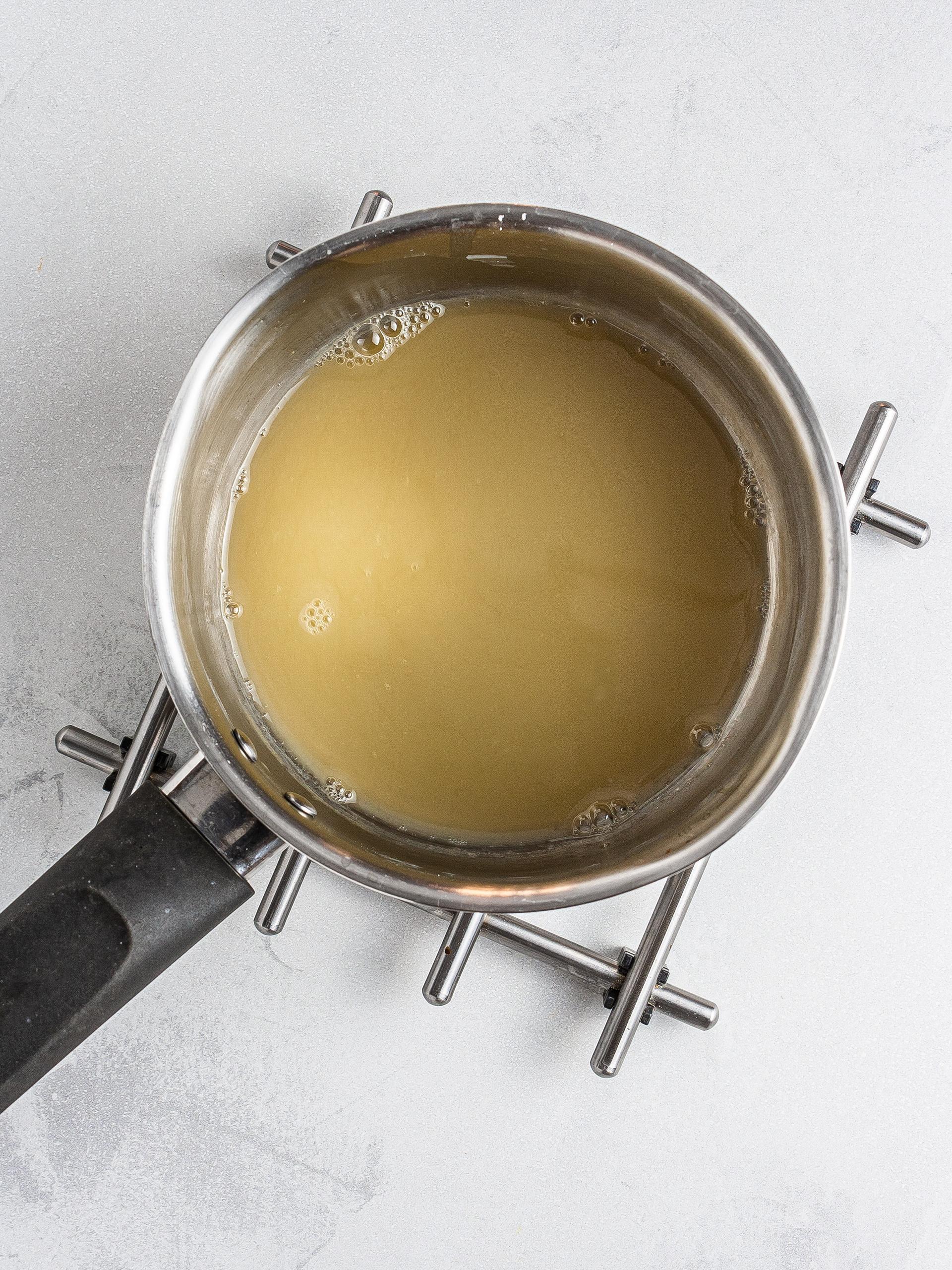 Cooked aquafaba
