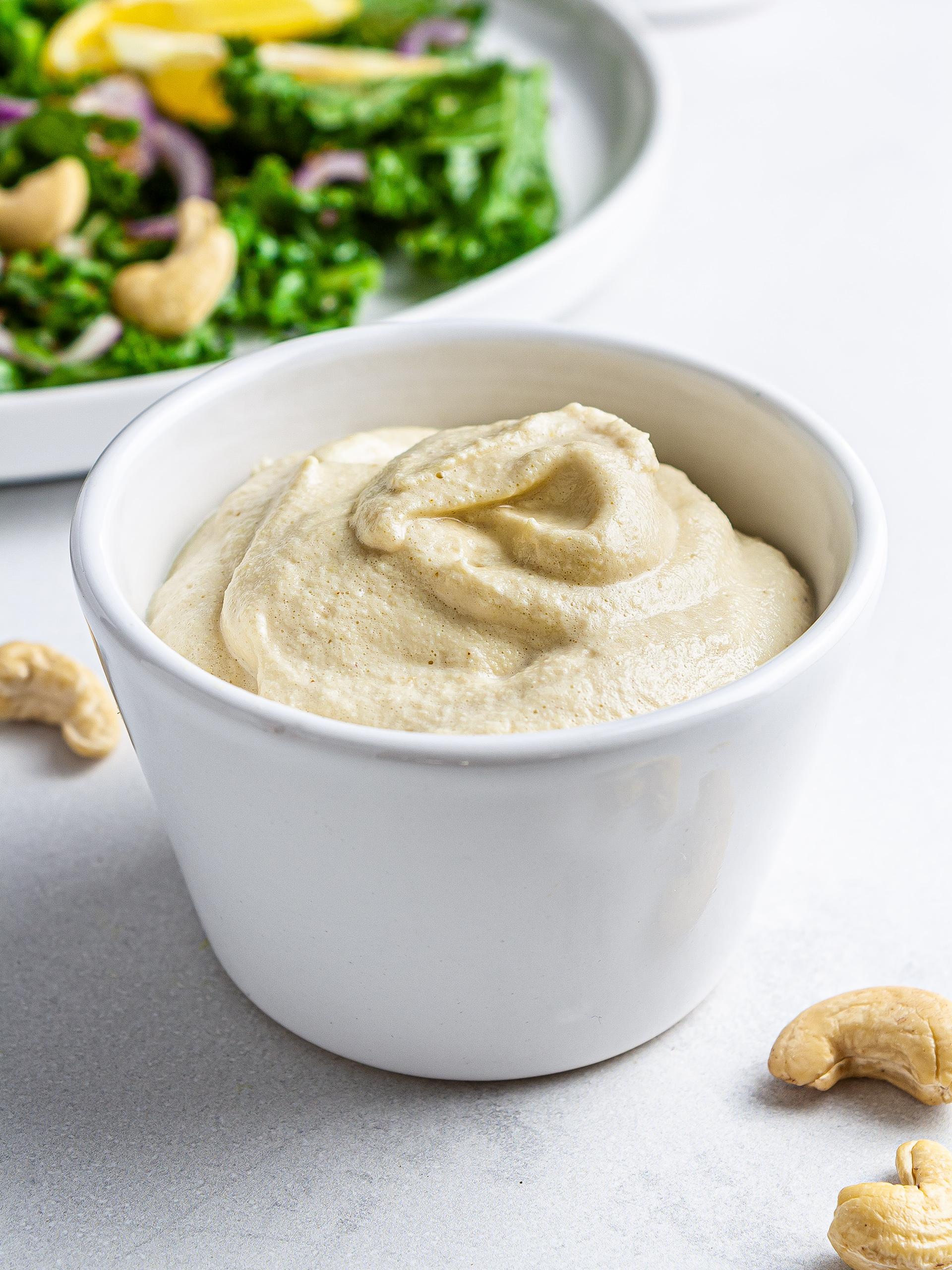 Vegan Cashew Mayo Recipe Thumbnail