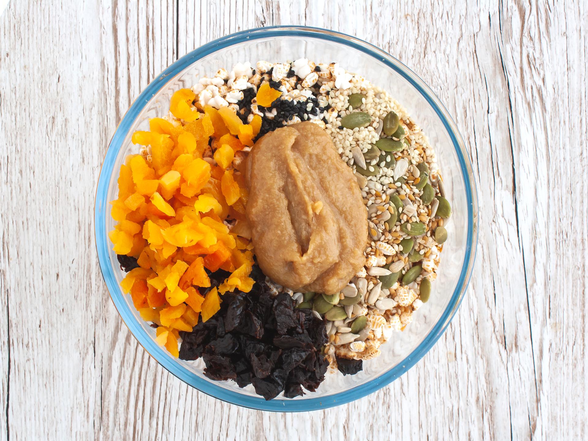 Step 2.1 of Sesame Puffed Rice Bars Recipe