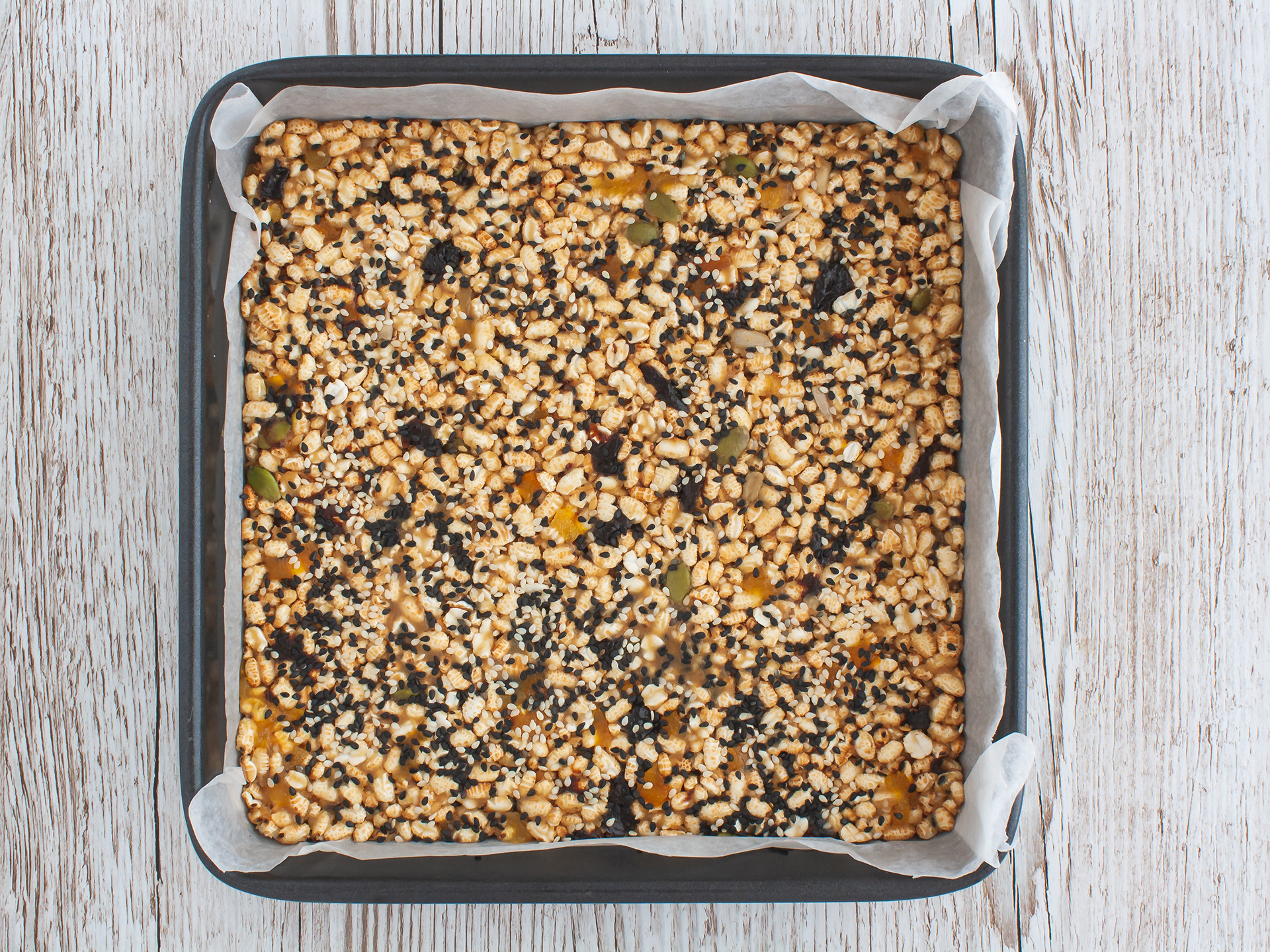 Step 2.2 of Sesame Puffed Rice Bars Recipe